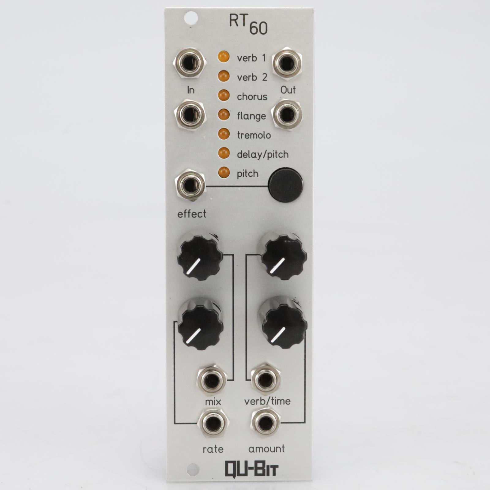 Qu-Bit Electronix RT60 Stereo Multi FX Processor Eurorack Module #40996