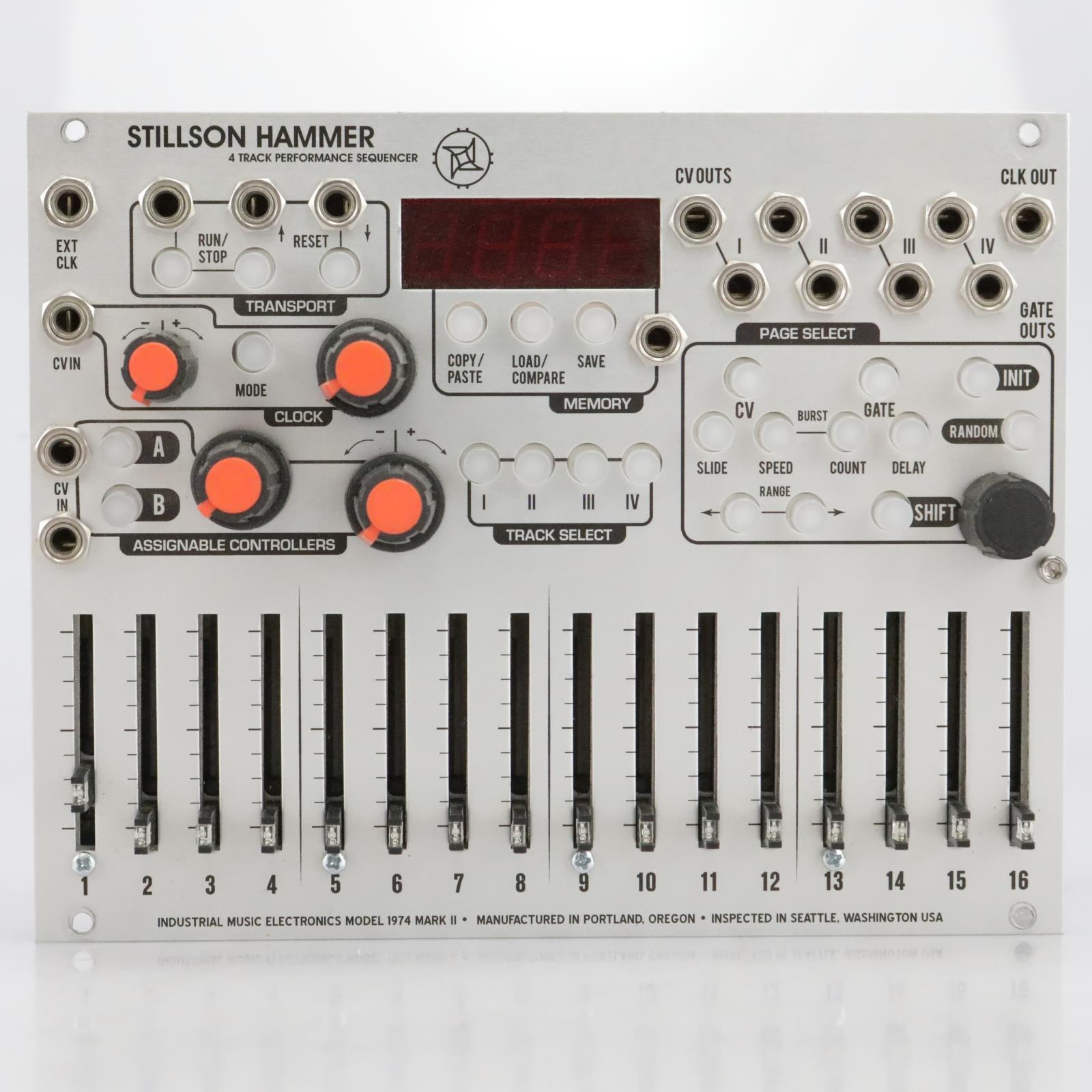 Industrial Music Electronics 1974 Mk II Stillson Hammer Eurorack Module #40941