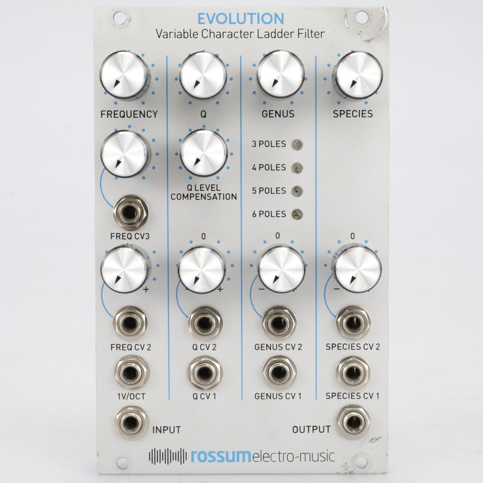 Rossum Electro-Music Evolution Variable Character Ladder Filter Module #41028