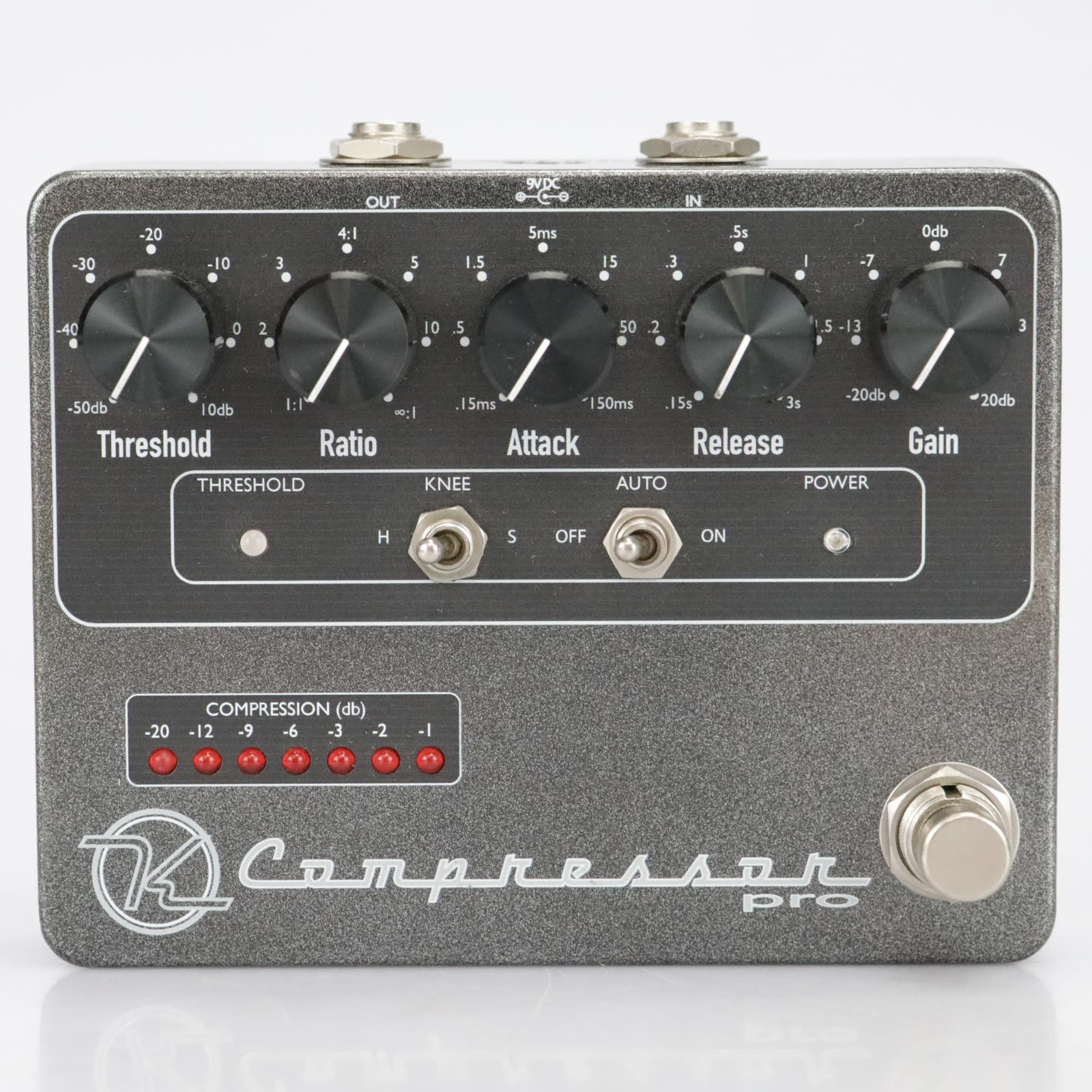 Keeley Engineering Compressor Pro Guitar Effects Pedal #40832