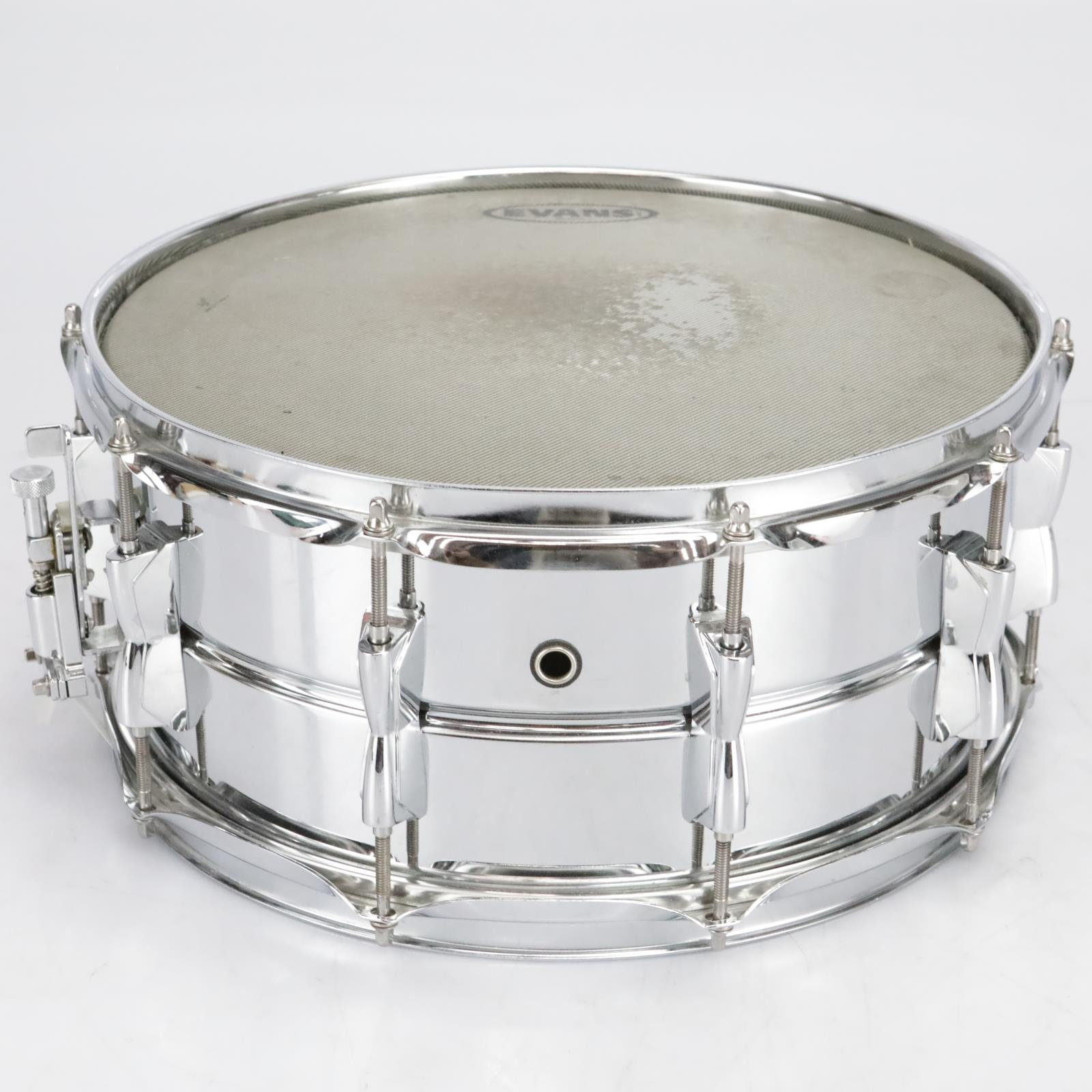 """Yamaha SD266A Snare Drum 14"""" x 6.5"""" Stainless Steel/Chrome #41050"""