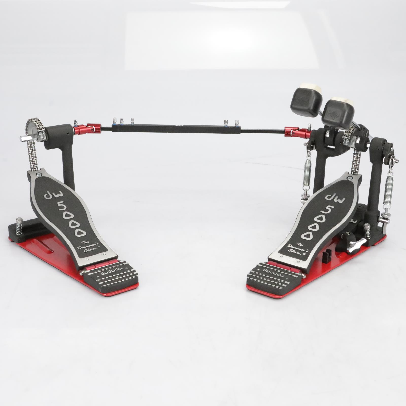 DW 5000 Series Turbo Double Bass Drum Pedal w/ DW Pedal Bag #41096
