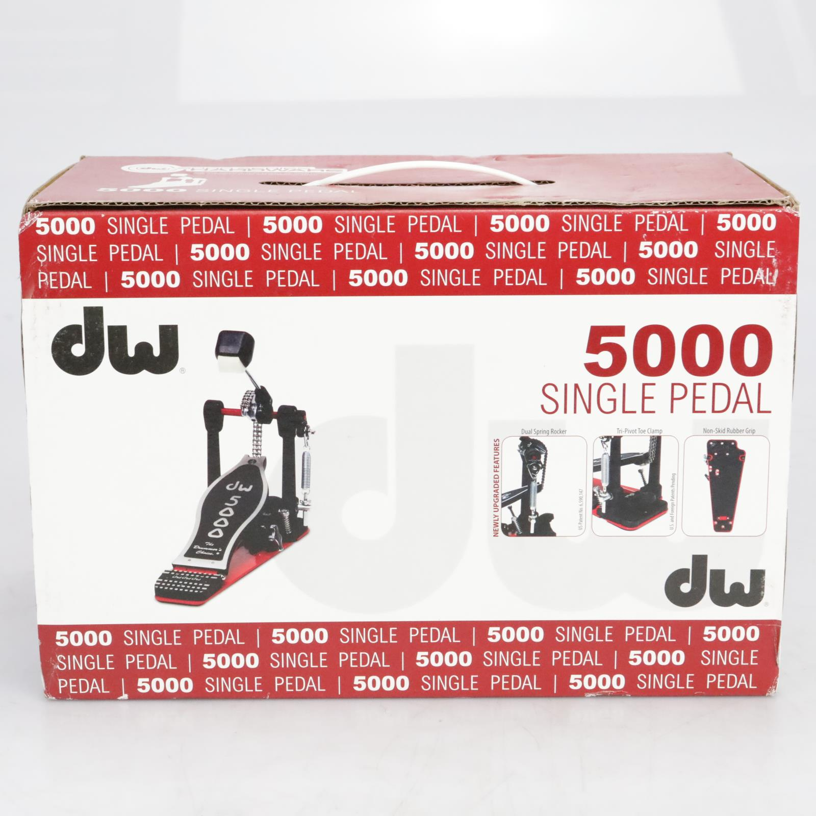 DW 5000 Series Accelerator Dual Chain Bass Drum Pedal #41111