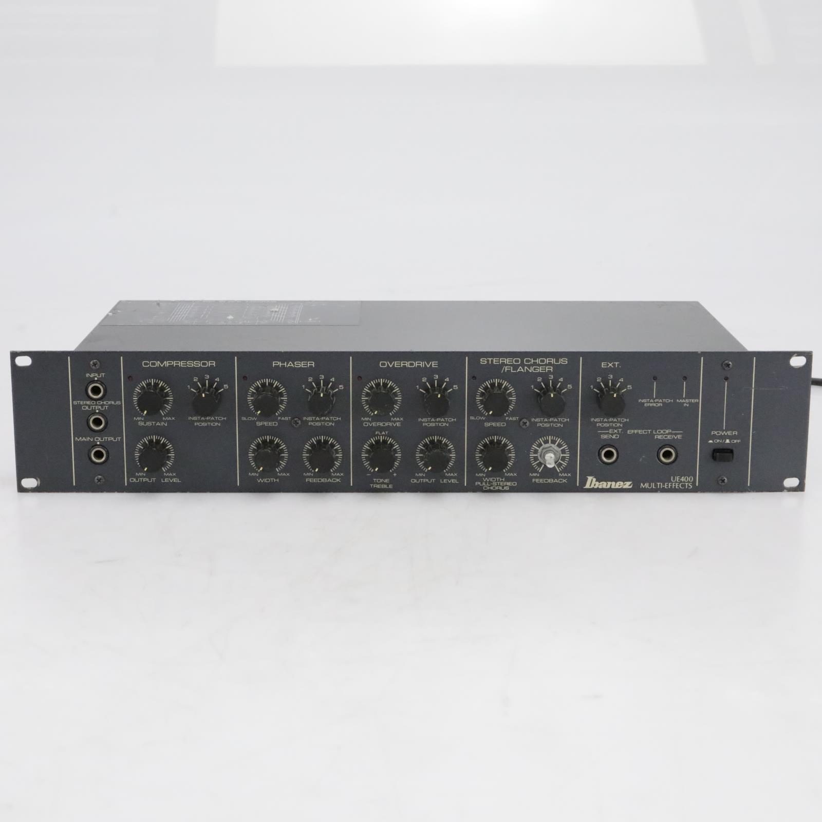 Ibanez UE400 Multi-Effects Processor w/ Footswitch Pedalboard #41173