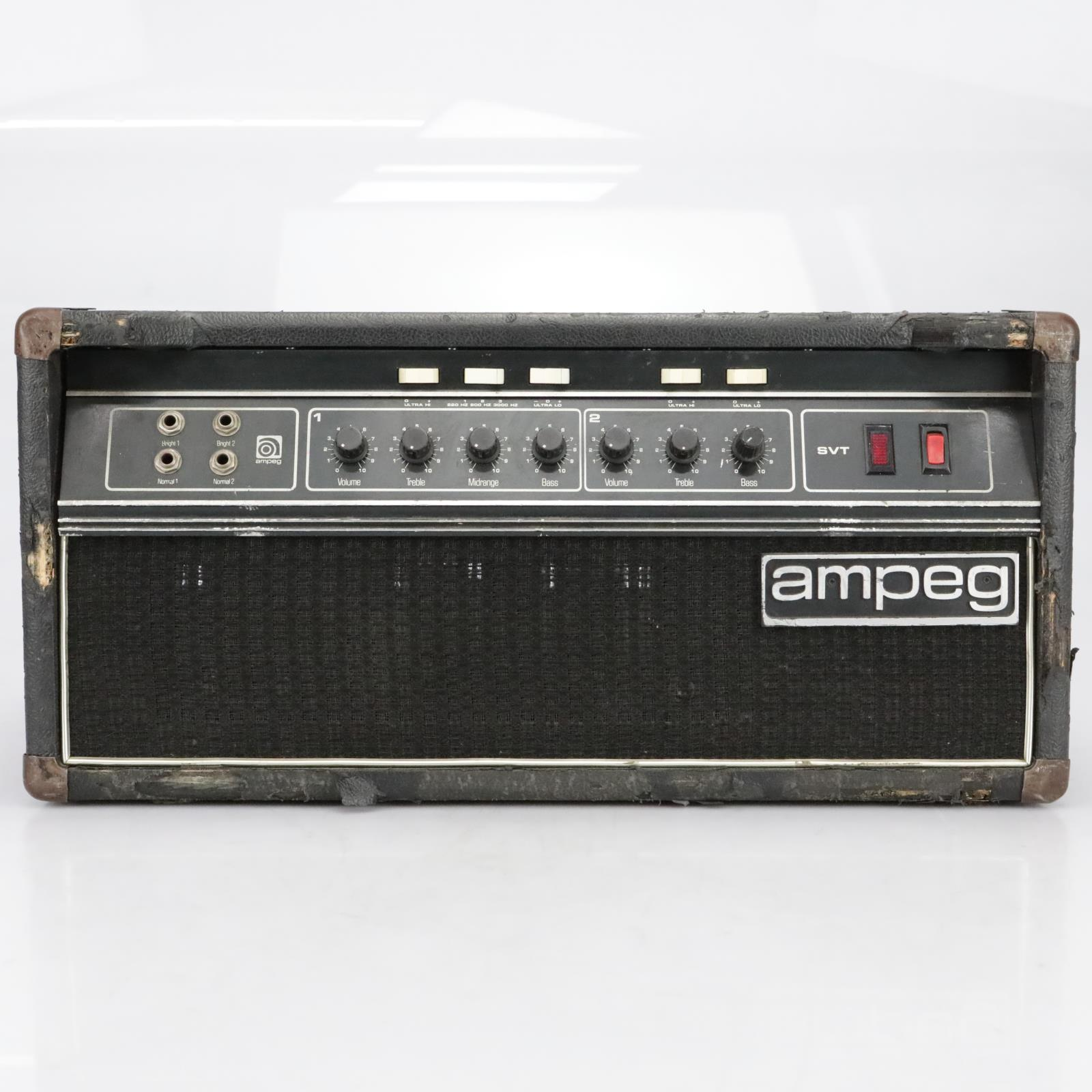 Ampeg SVT 4 Input 2 channel Bass Amplifier Head Made in USA #40794