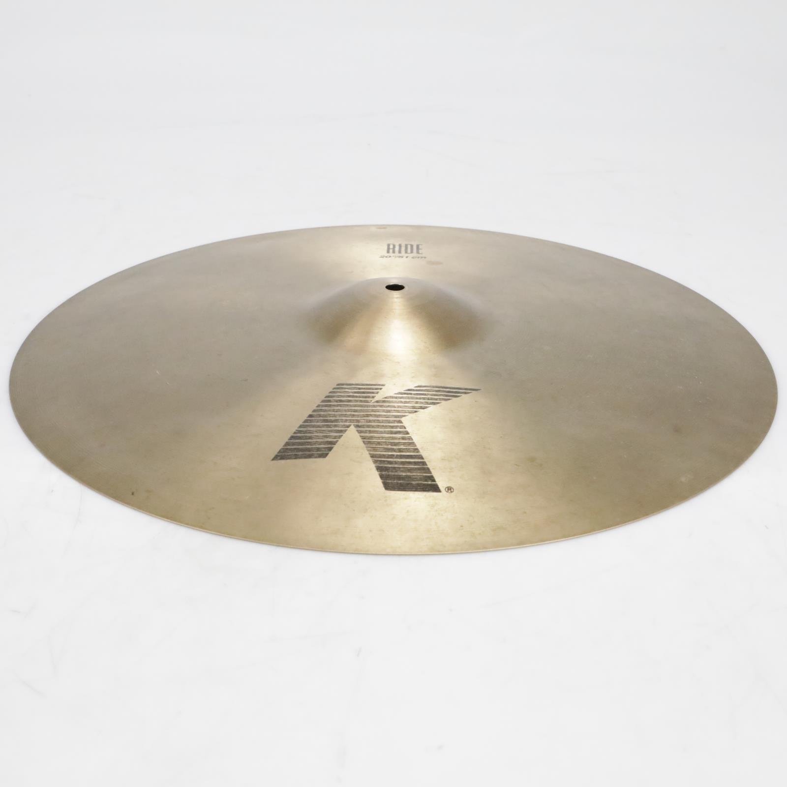 "Zildjian K Series K0817 20""/51cm Ride Cymbal Video!  #41282"