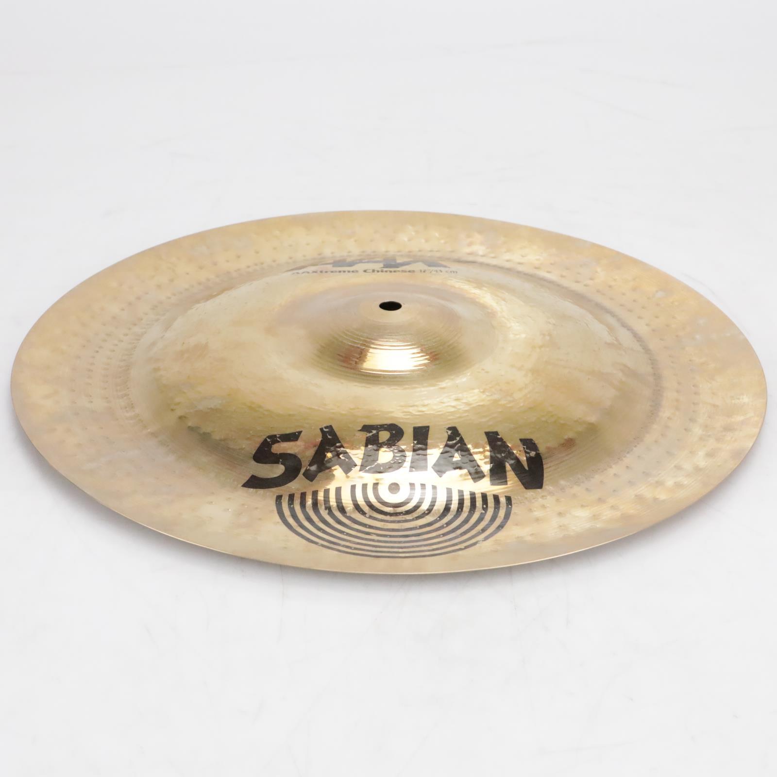 "Sabian 17"" AAXtreme Chinese Crash Cymbal Video! #41246"