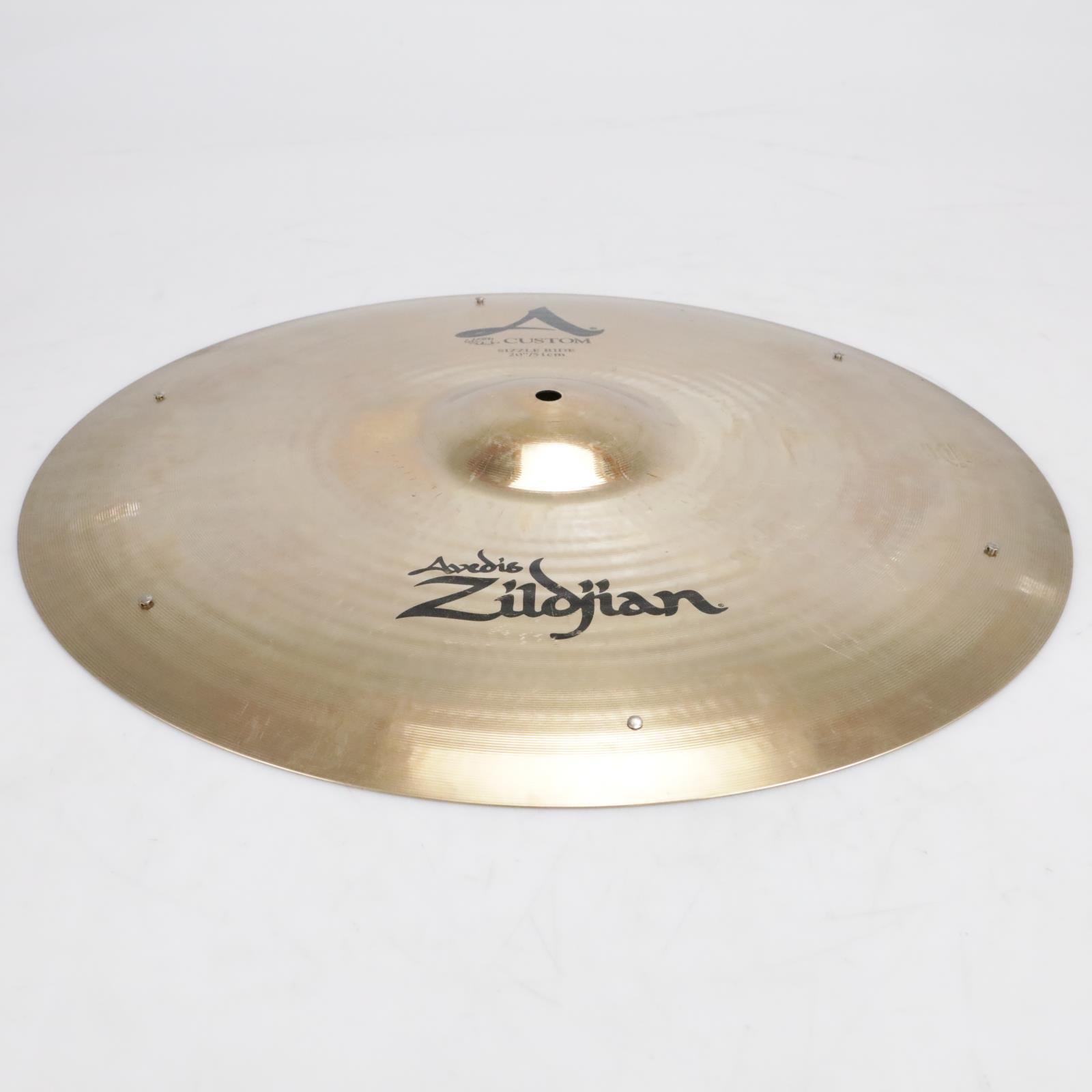 """Zildjian A Custom 20""""/51cm Sizzle Ride Cymbal Video! #41279"""