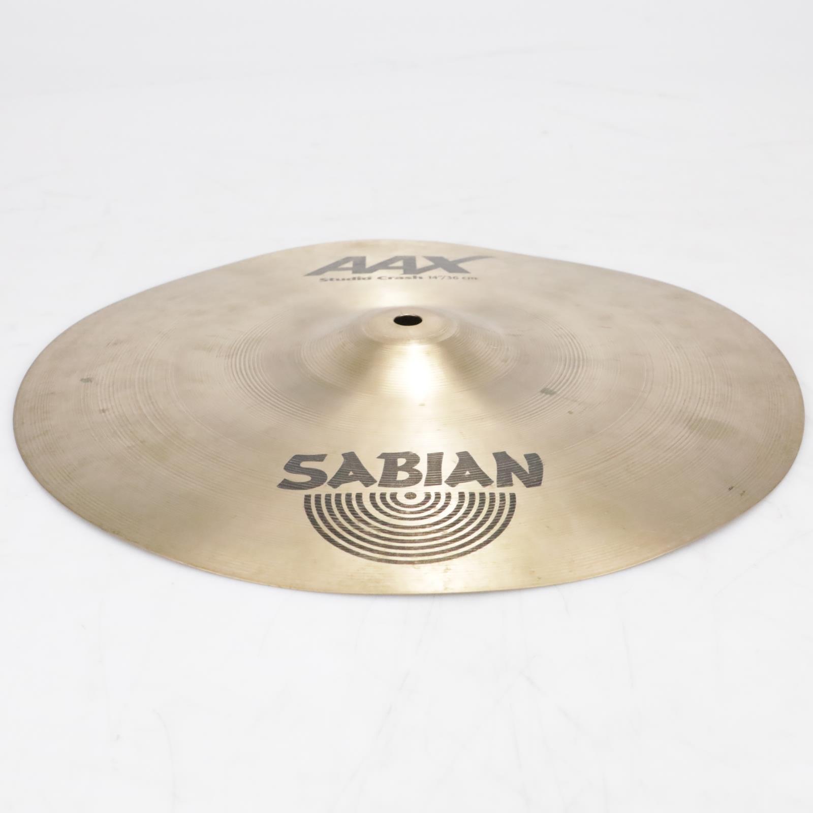 """14"""" Sabian AAX Studio Crash Cymbal Video! #41288"""