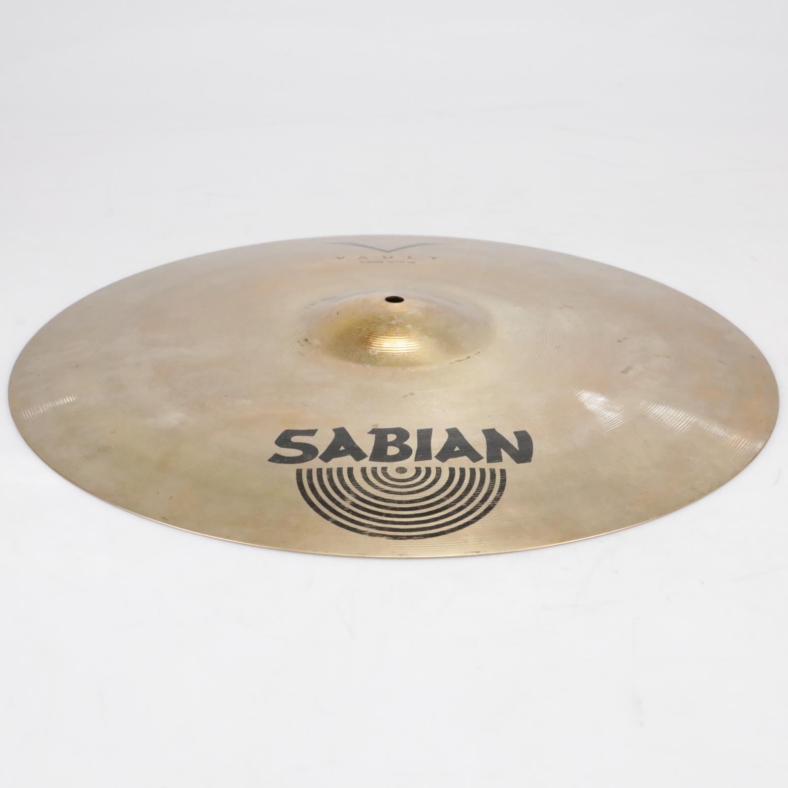 """Sabian Vault V2012B 20""""/51cm Ride Cymbal Video! #41266"""