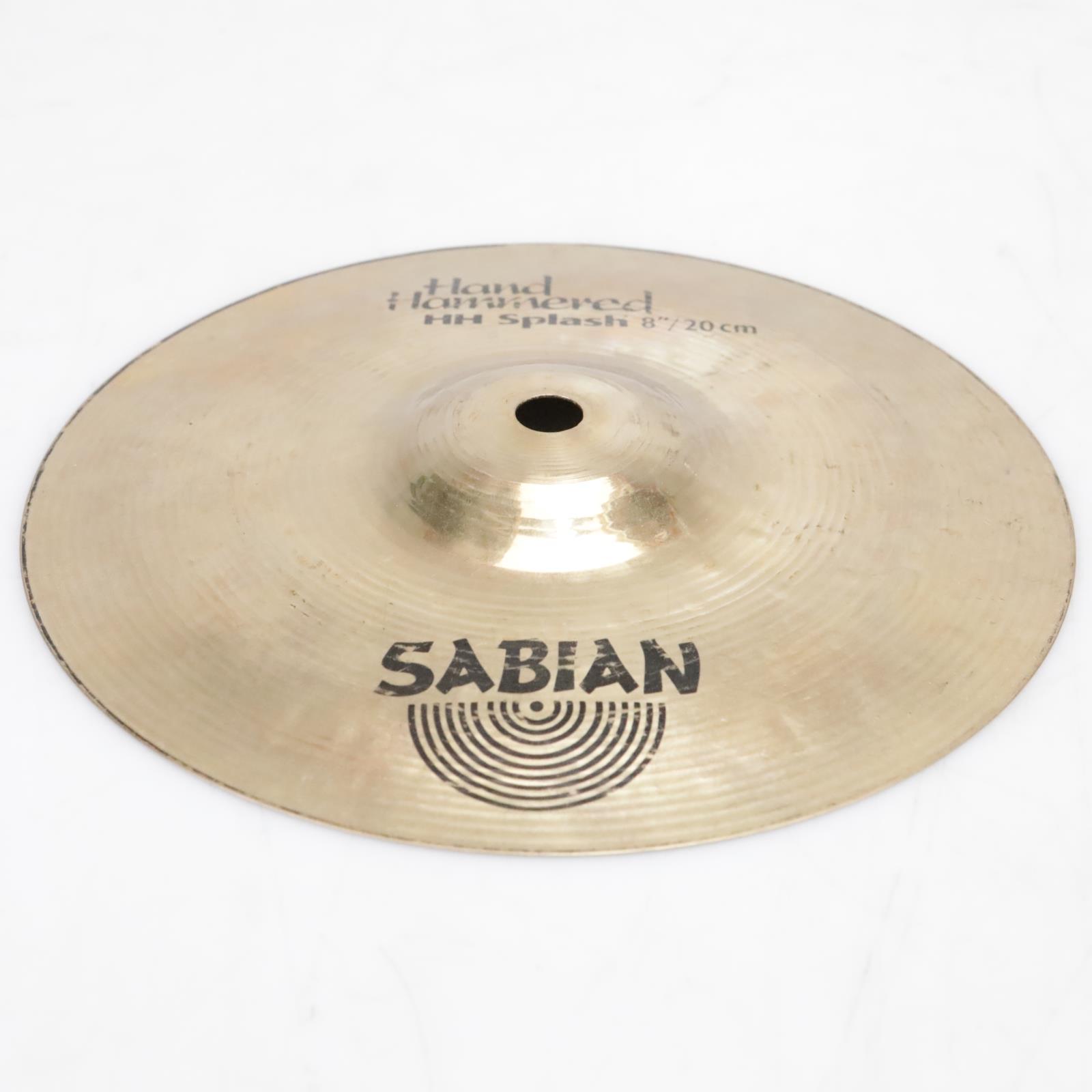 "8"" Sabian HH Hand-Hammered Splash Cymbal Video! #41259"