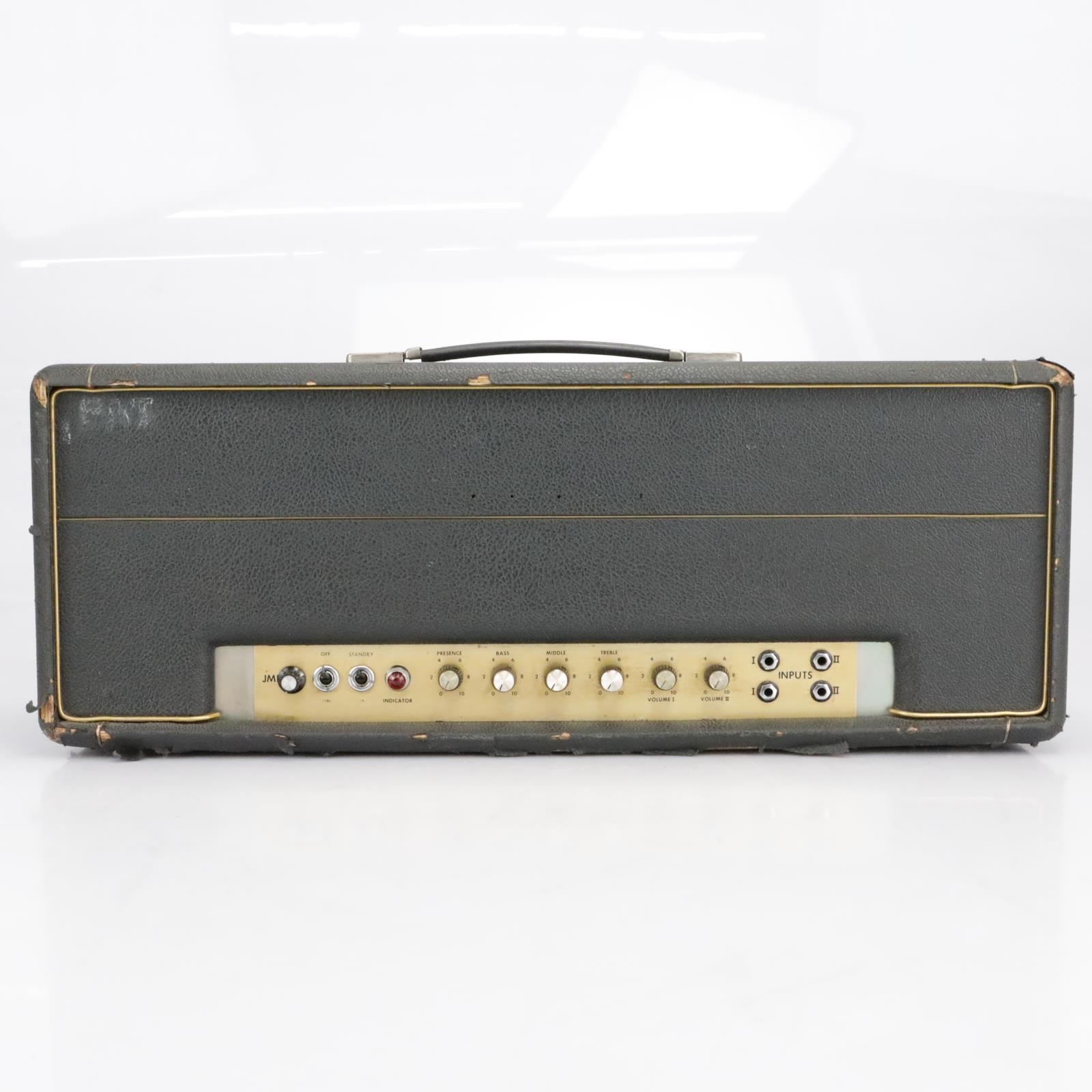 1975 Marshall Super Lead 100w MKII Guitar Tube Amp Head #40783