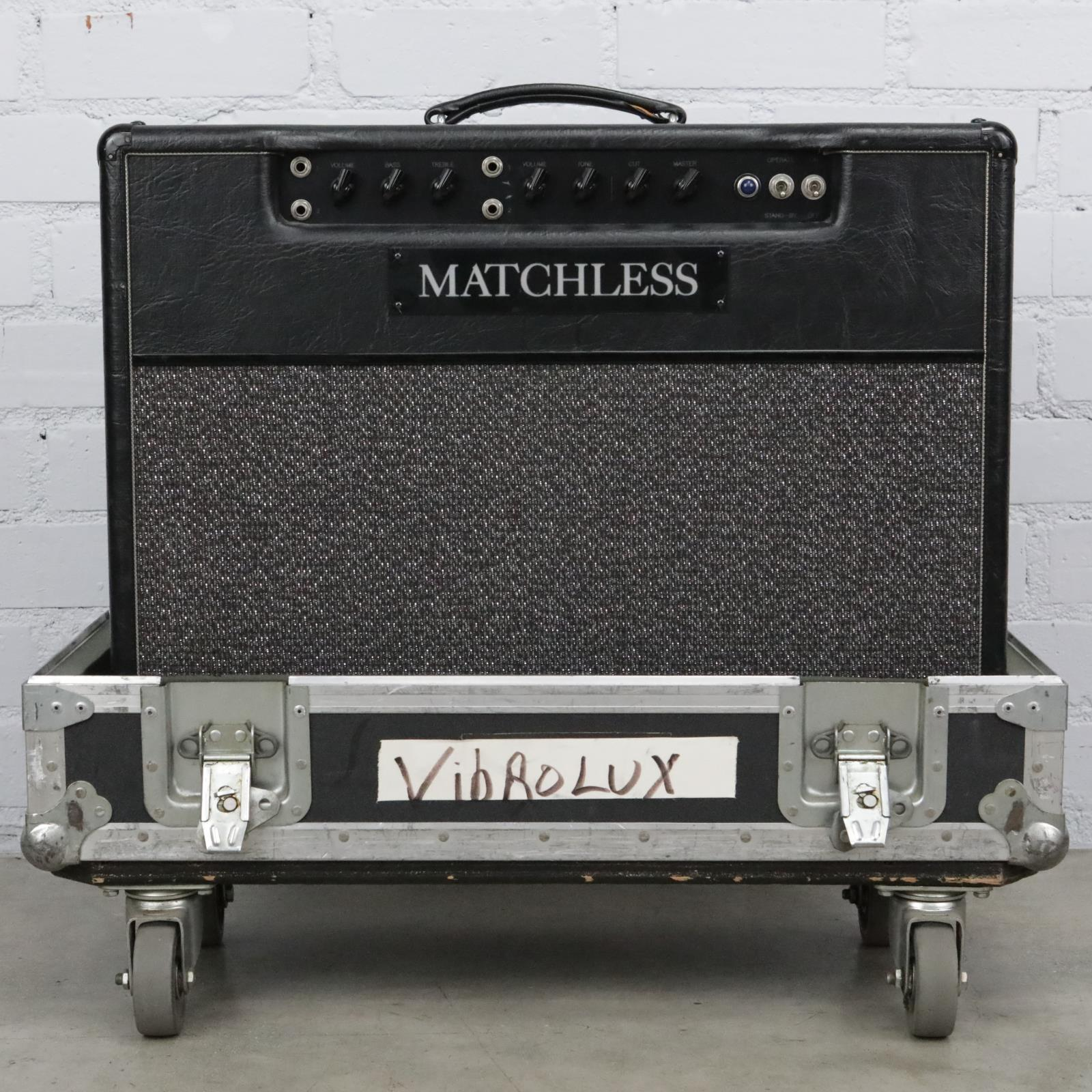 1994 Matchless D/C-30L Guitar Tube Amplifier w/ Case DC-30 T Bone Burnett #41412