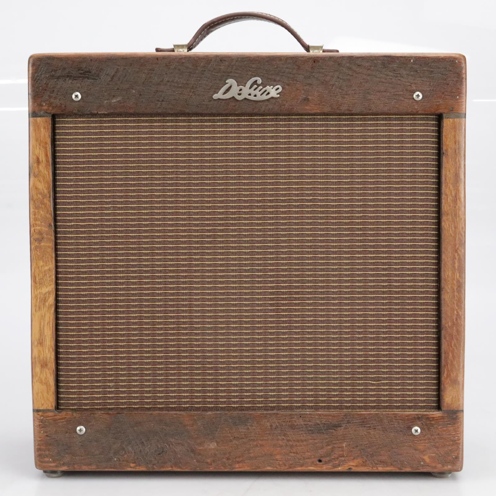 Deluxe 5F2-A '59 Tweed Princeton Barnwood Tube Combo Amplifier #41573