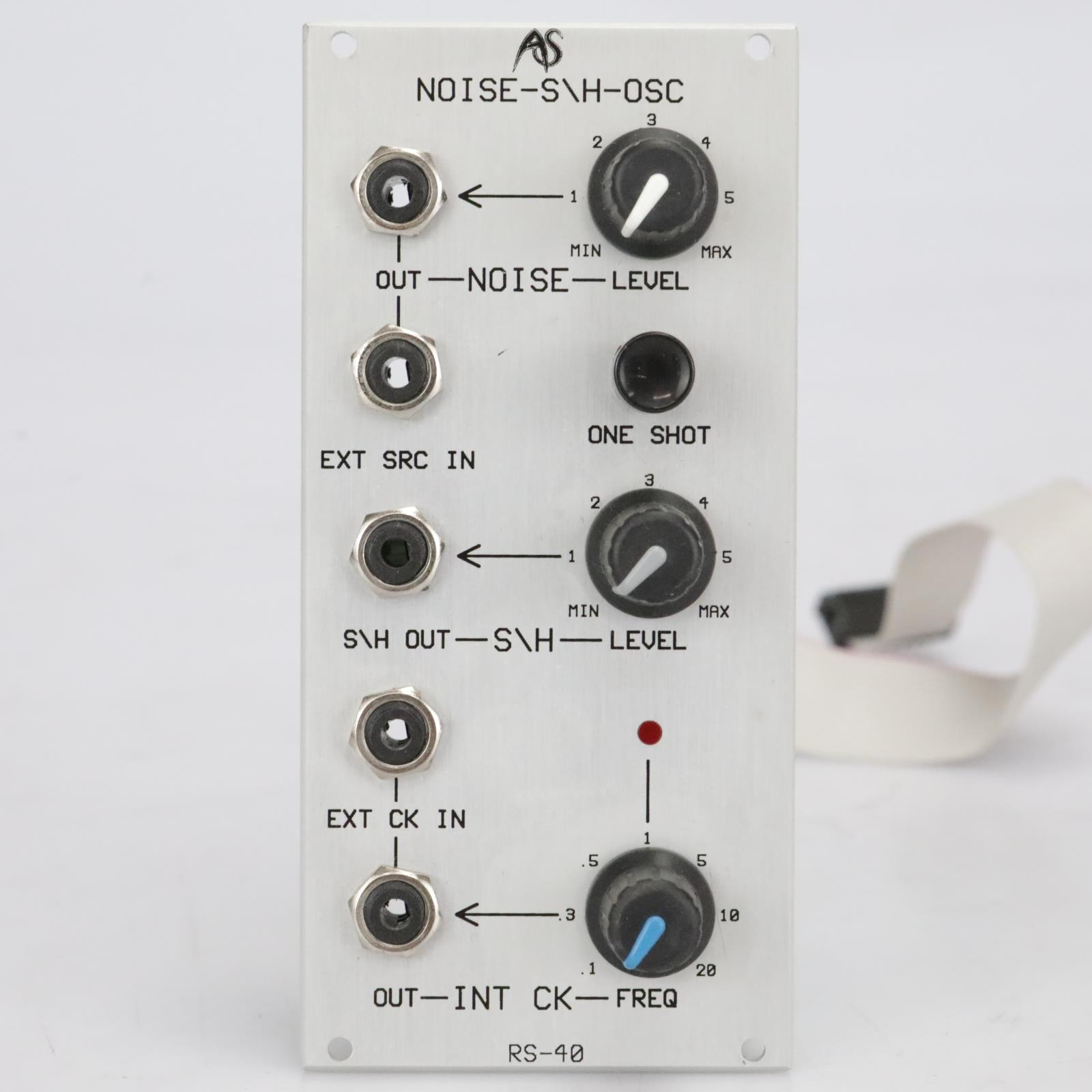Analogue Systems RS-40 Noise-S\H-Osc Eurorack Synthesizer Module #41542