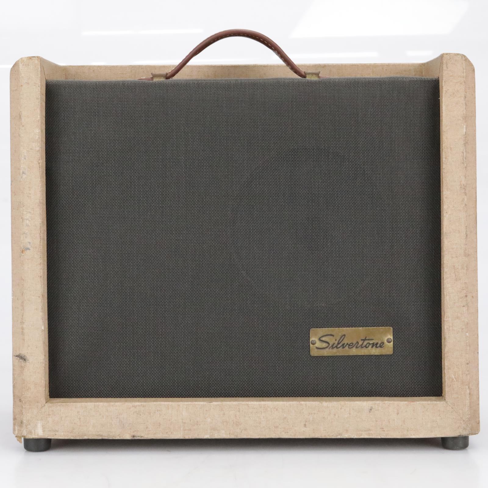 """Silvertone 1391 5-Watt 1x8"""" Tube Guitar Combo Amplifier #41584"""