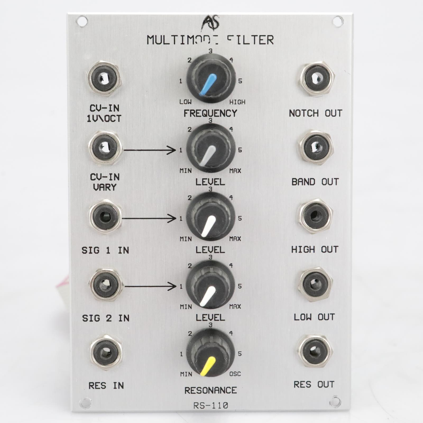 Analogue Systems RS-110 Multimode Filter Eurorack Synthesizer Module #41527