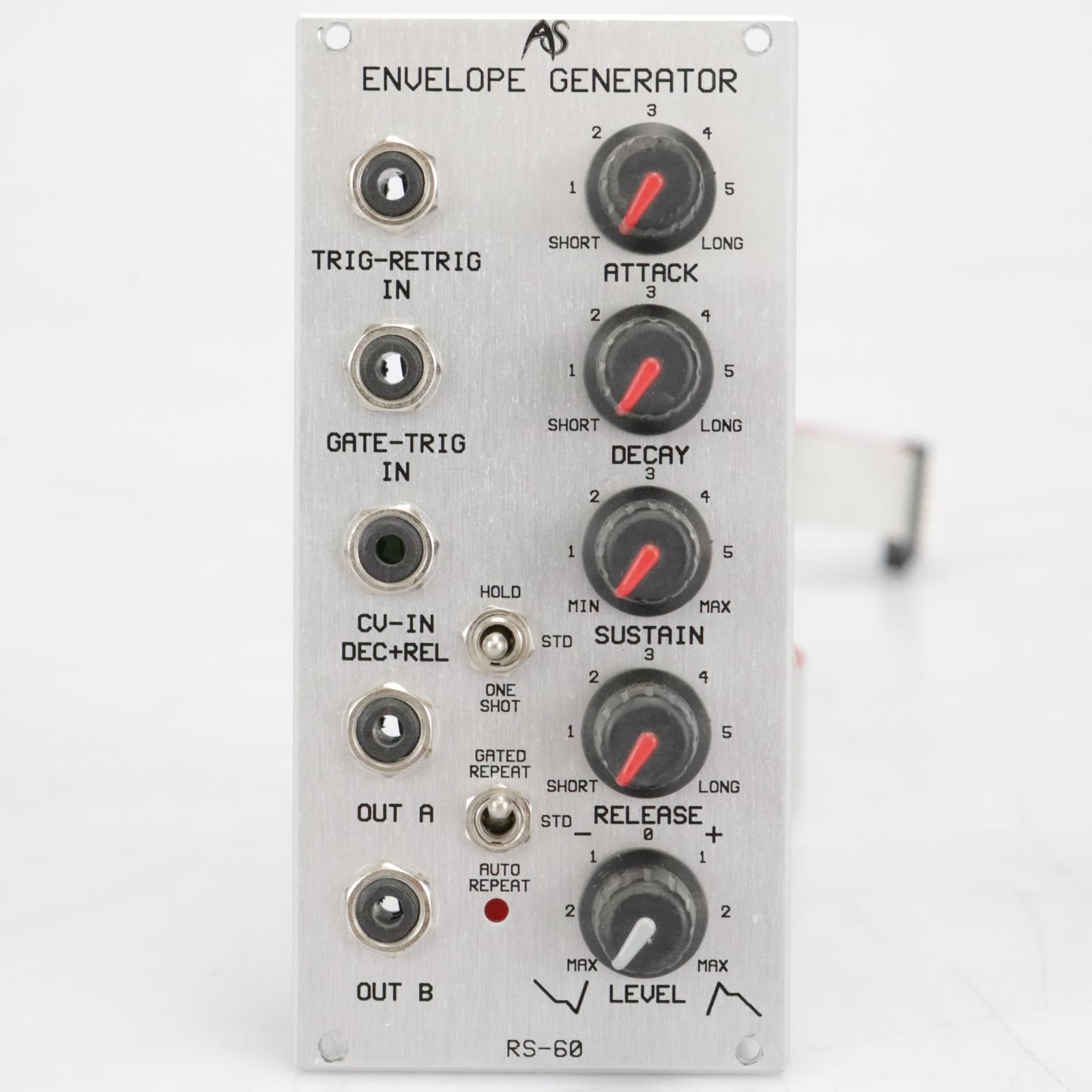 Analogue Systems RS-60 Envelope Generator Eurorack Synthesizer Module #41529