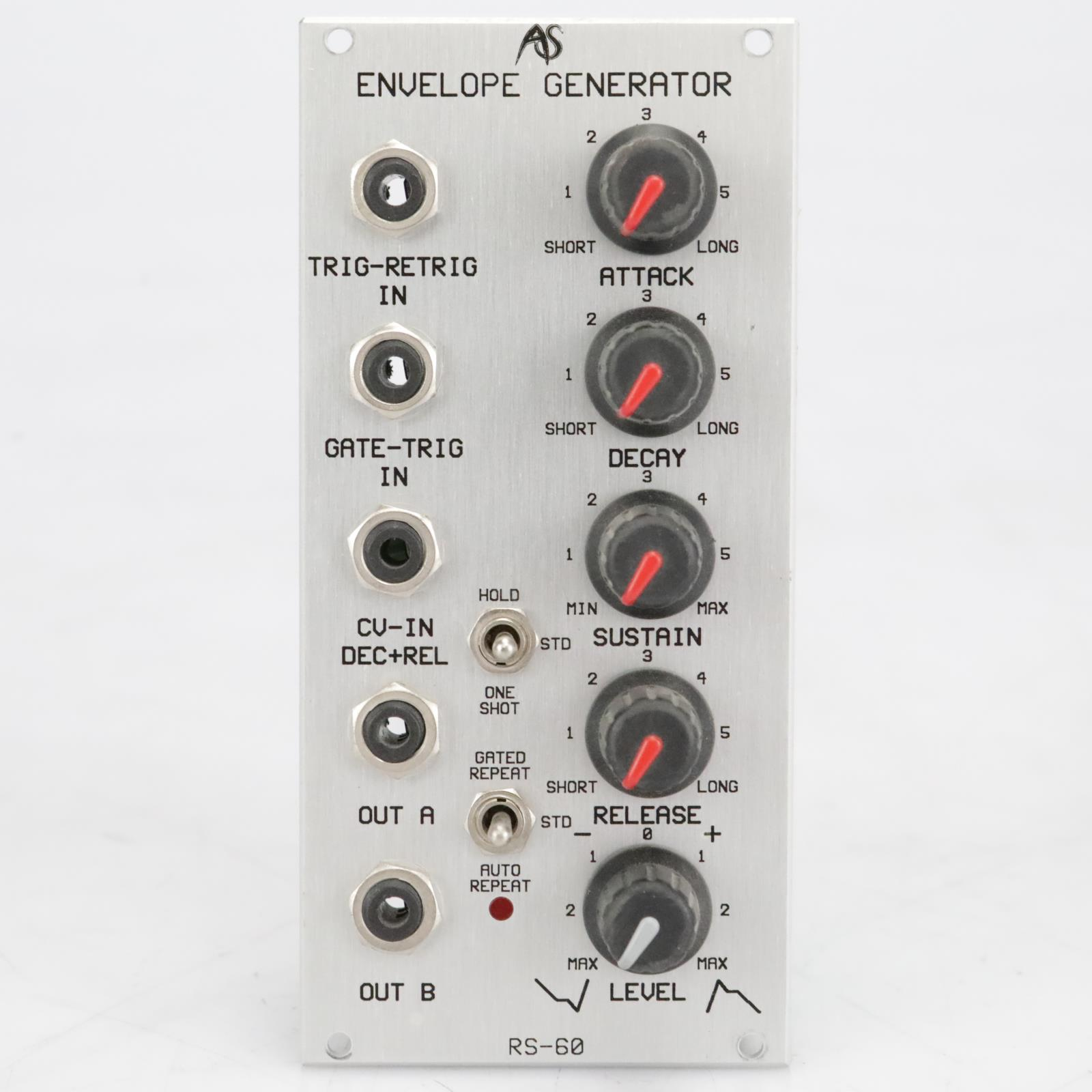 Analogue Systems RS-60 Envelope Generator Eurorack Synthesizer Module #41530