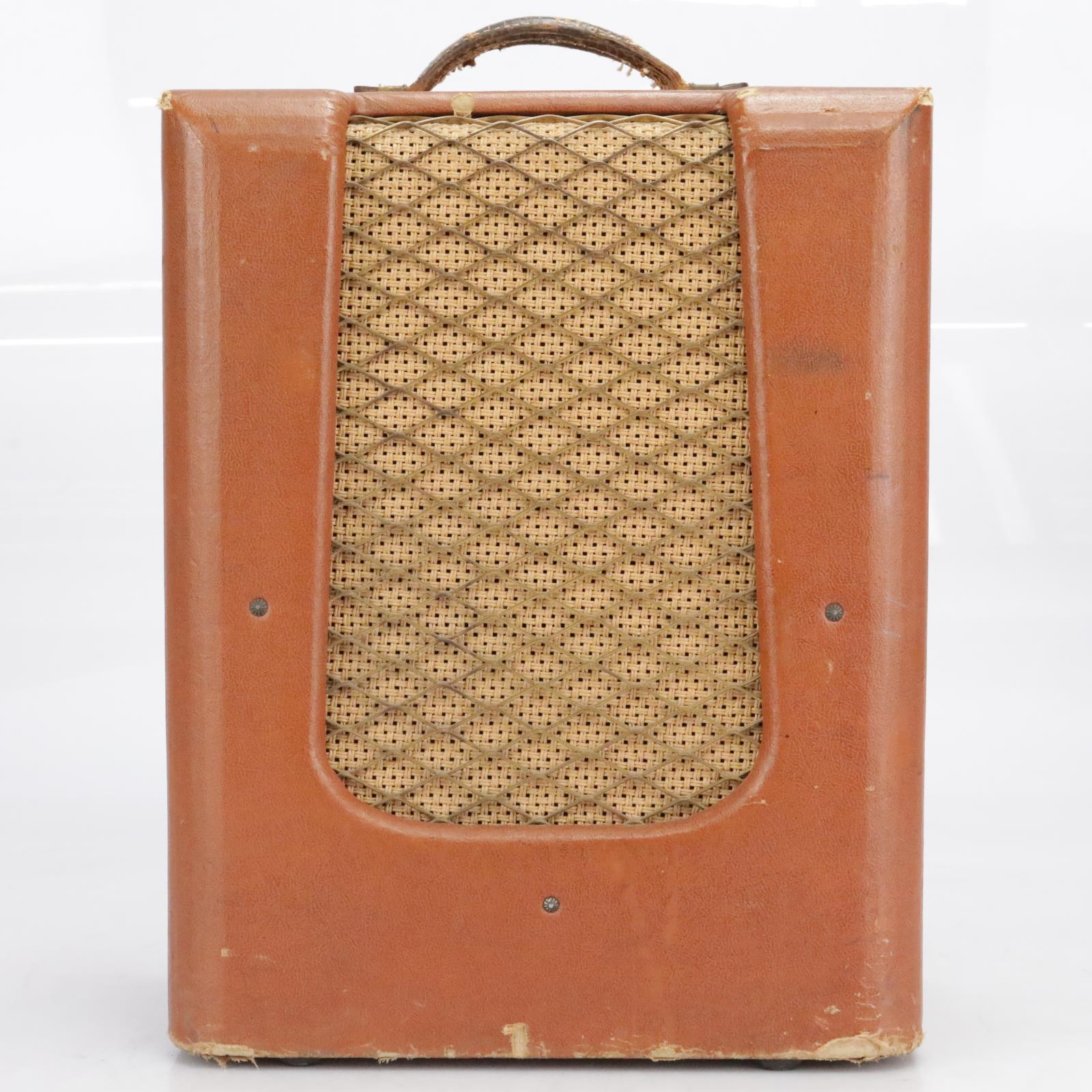 1950s Montgomery Ward 35 JDR Tube Guitar Combo Amplifier #41589