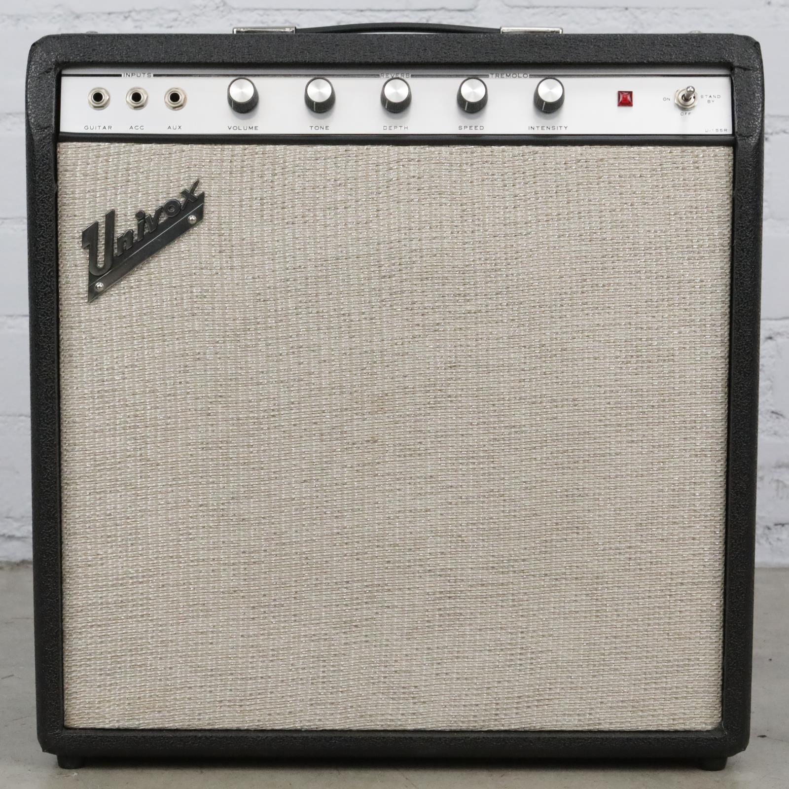 Univox U-155R Tube Guitar Combo Amplifier Needs Service #41581