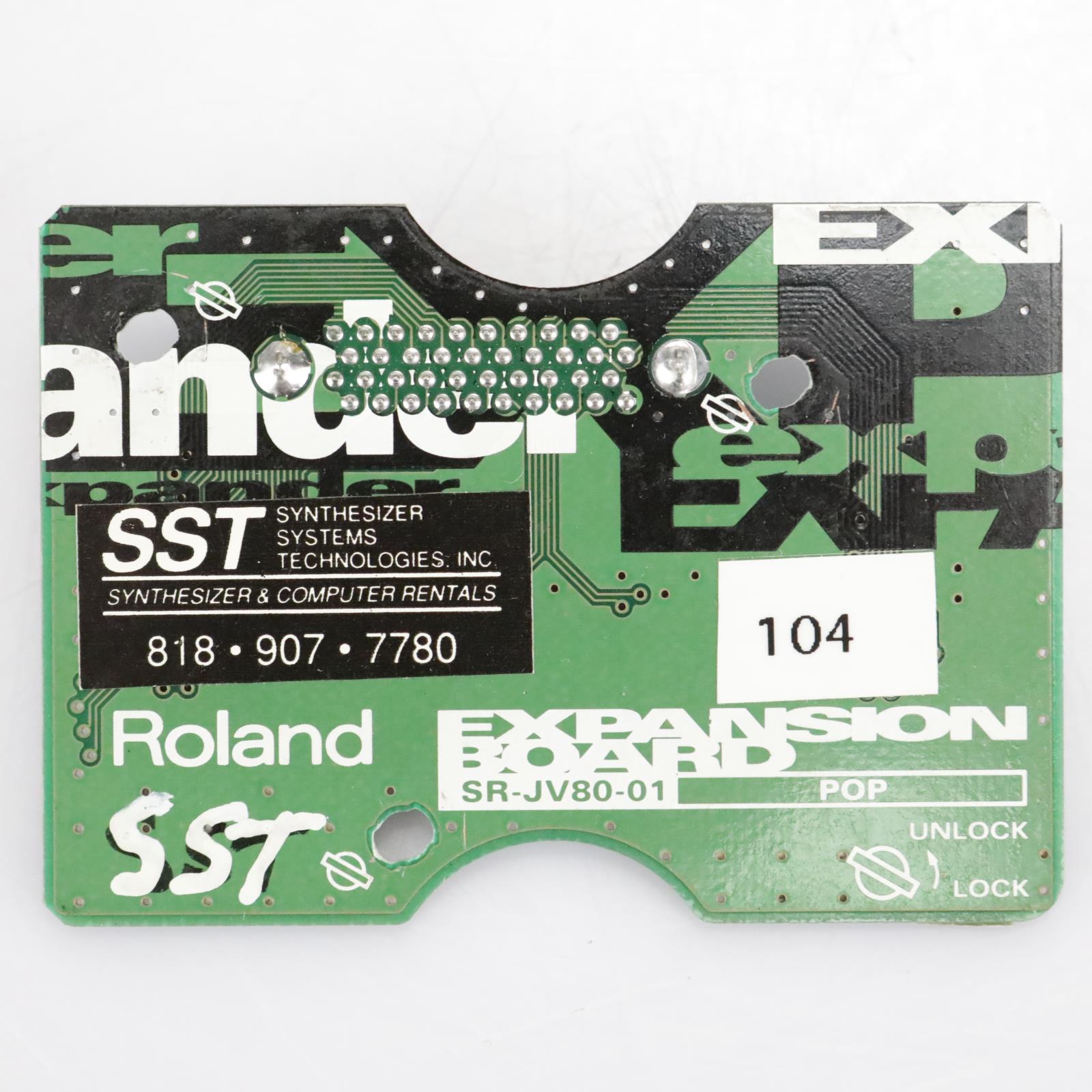 Roland Pop SR-JV80-01 Expansion Board #41741