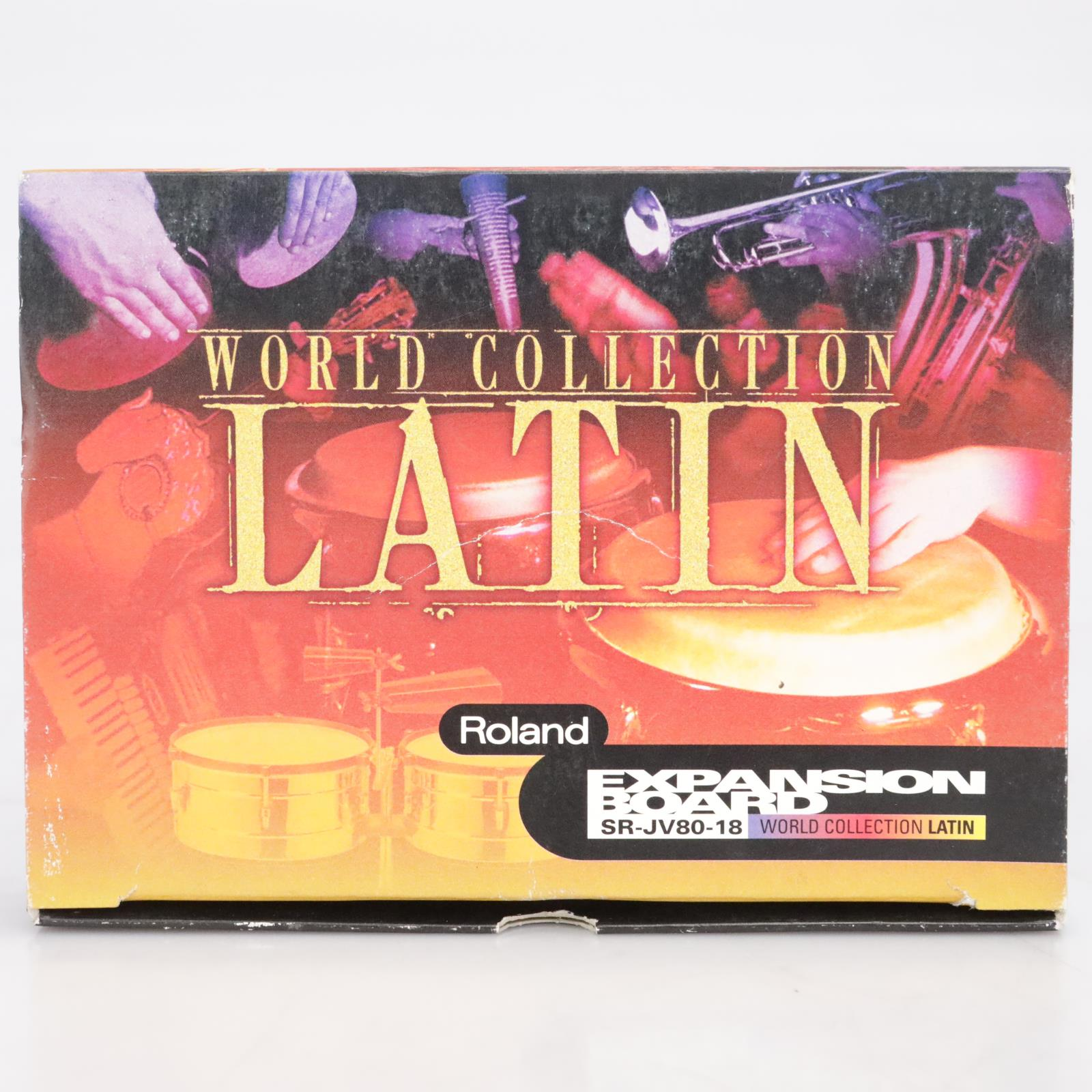 Roland World Collection Latin SR-JV80-18 Expansion Board #41666
