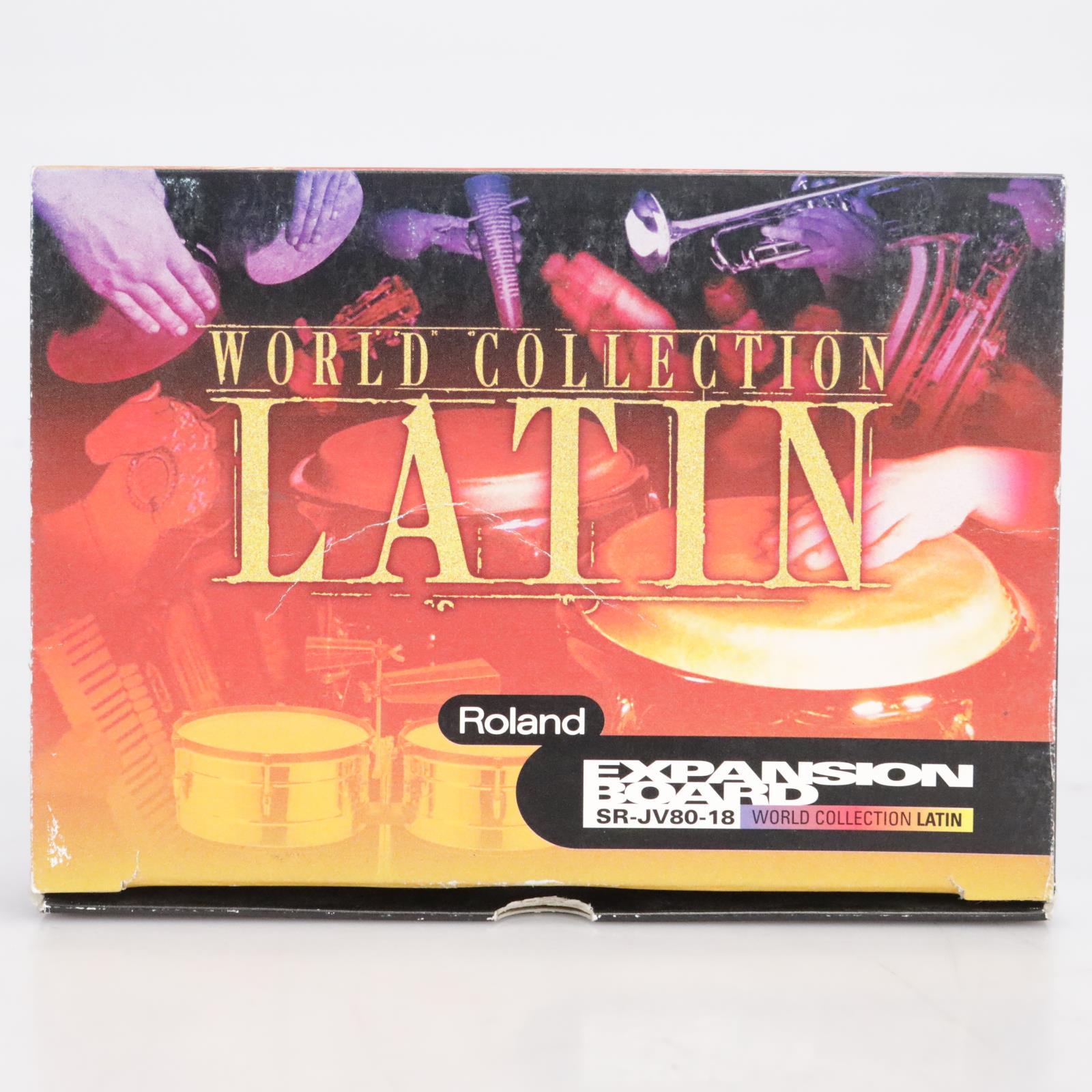 Roland World Collection Latin SR-JV80-18 Expansion Board #41665