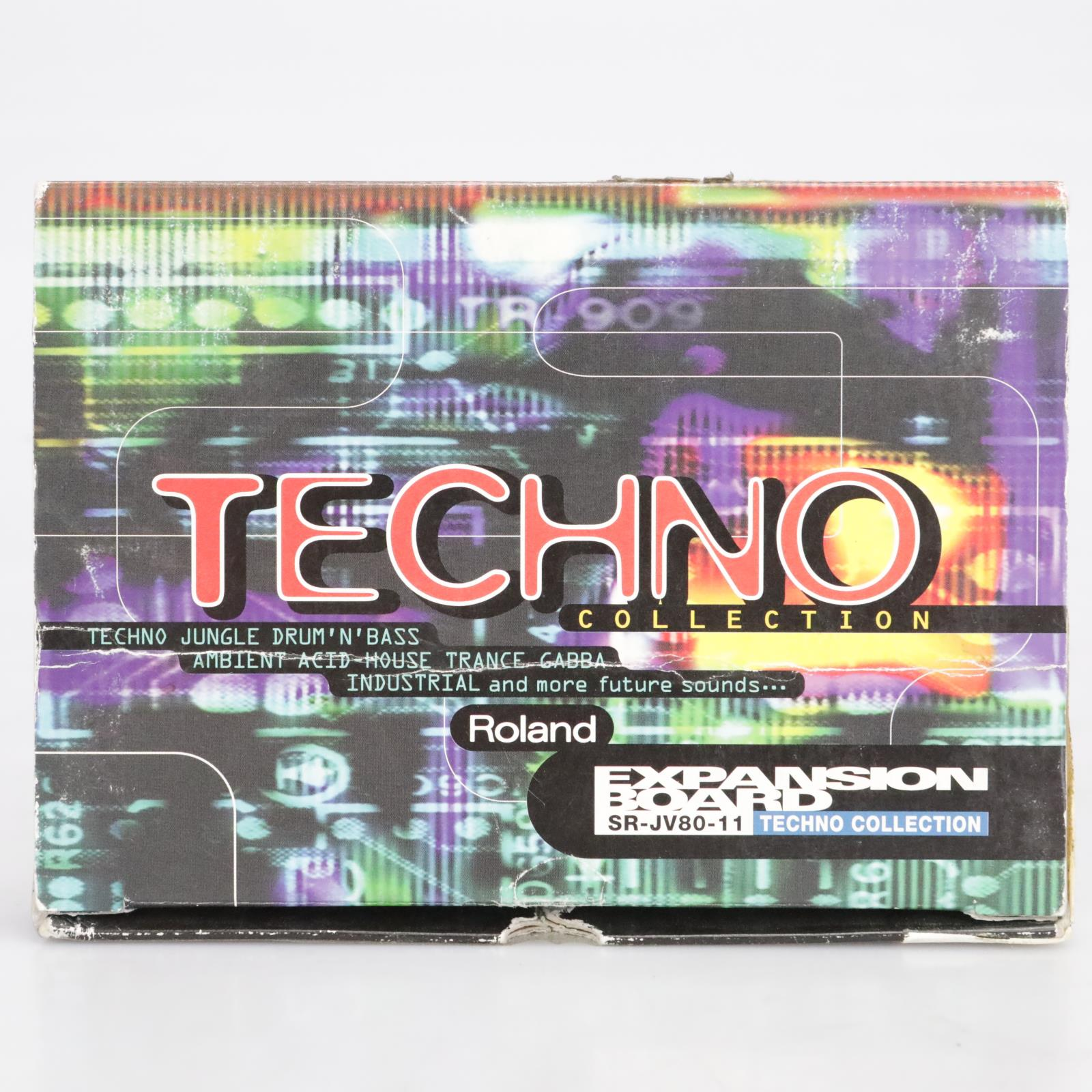 Roland SR-JV80-11 Techno Collection Expansion Board ON LOAN TO JOSH RALPH #41703