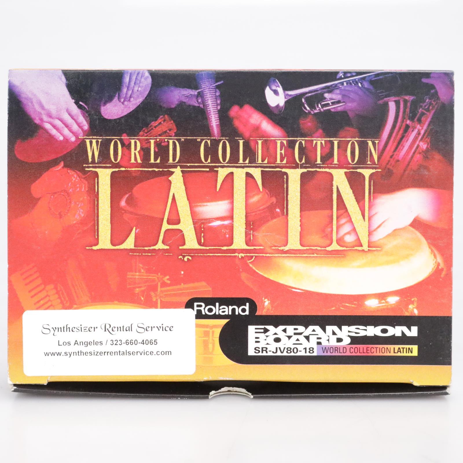 Roland World Collection Latin SR-JV80-18 Expansion Board #41664