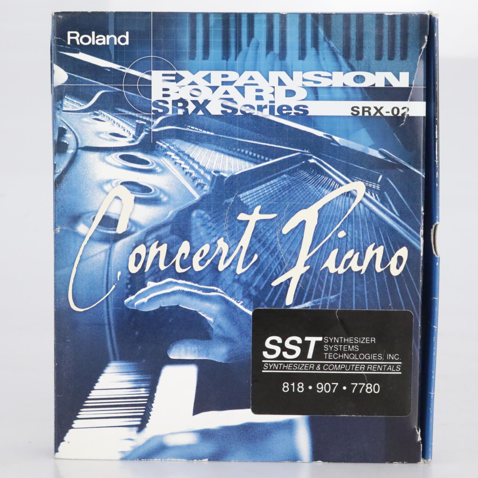 Roland SRX-02 Concert Piano Expansion Board #41648