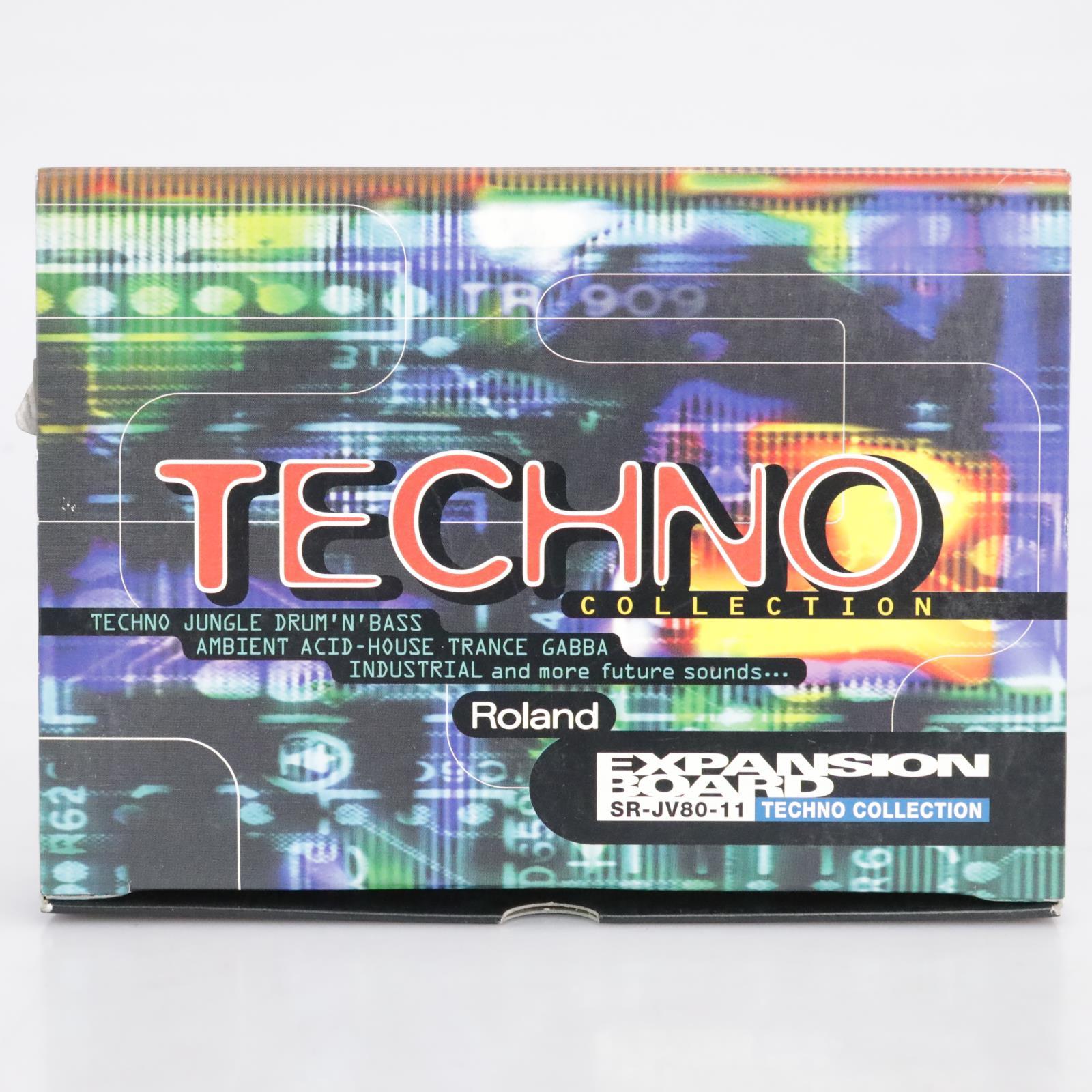 Roland SR-JV80-11 Techno Collection Expansion Board #41704