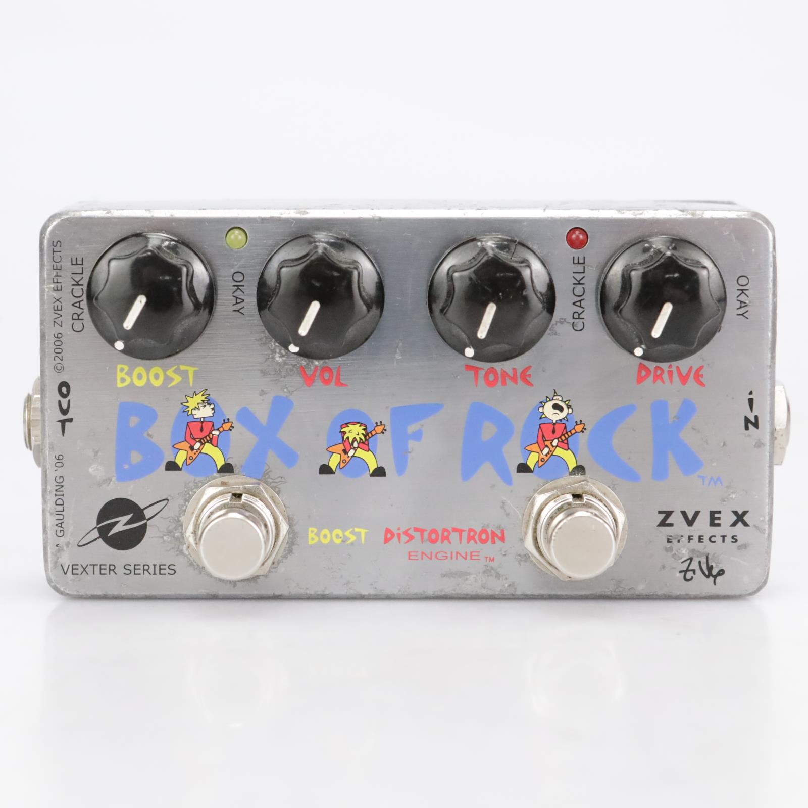 Zvex Effects Box of Rock Vexter Series Boost Distortion Engine Pedal 2006 #41889
