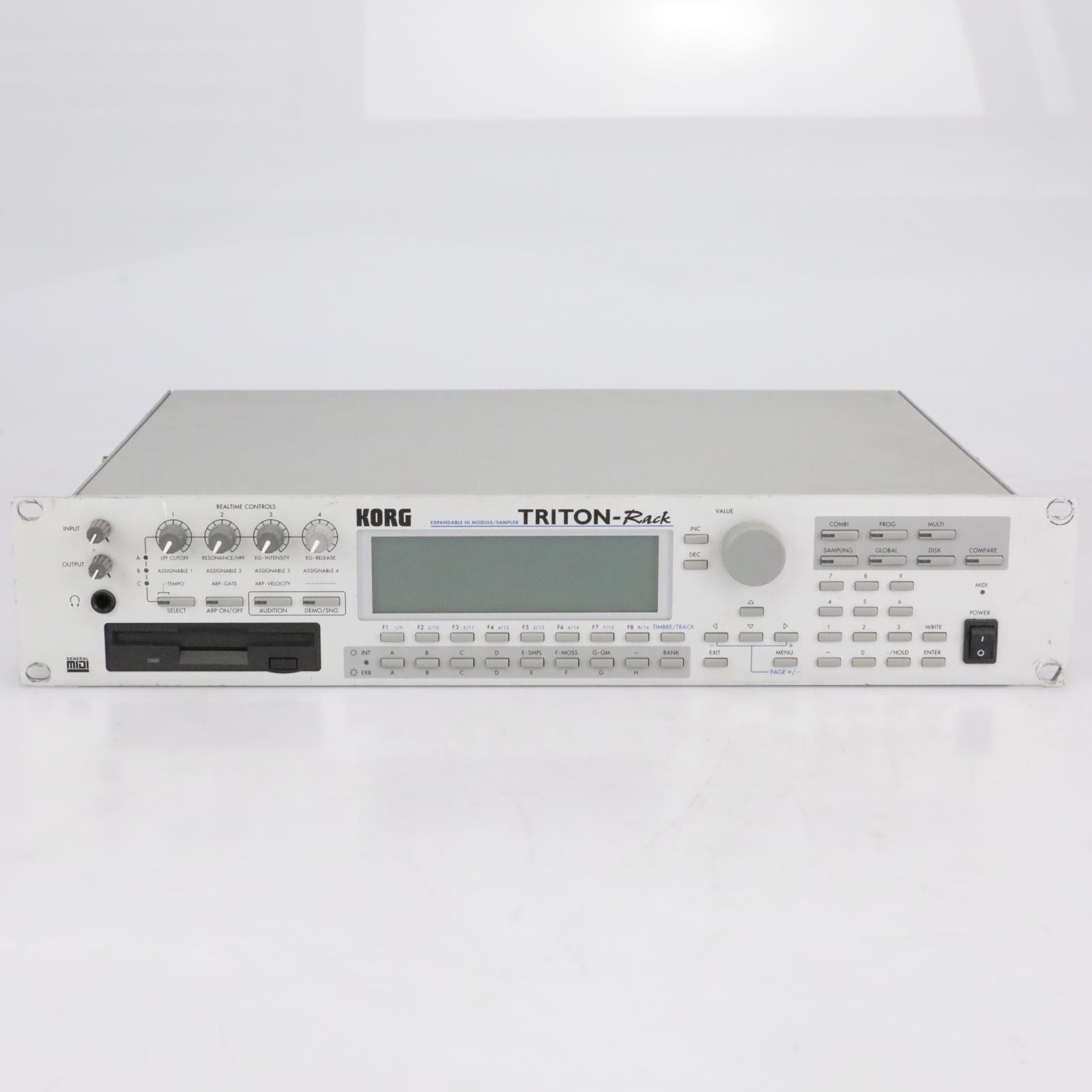 KORG Triton-Rack Workstation Sampler Synthesizer Sound Module #41642