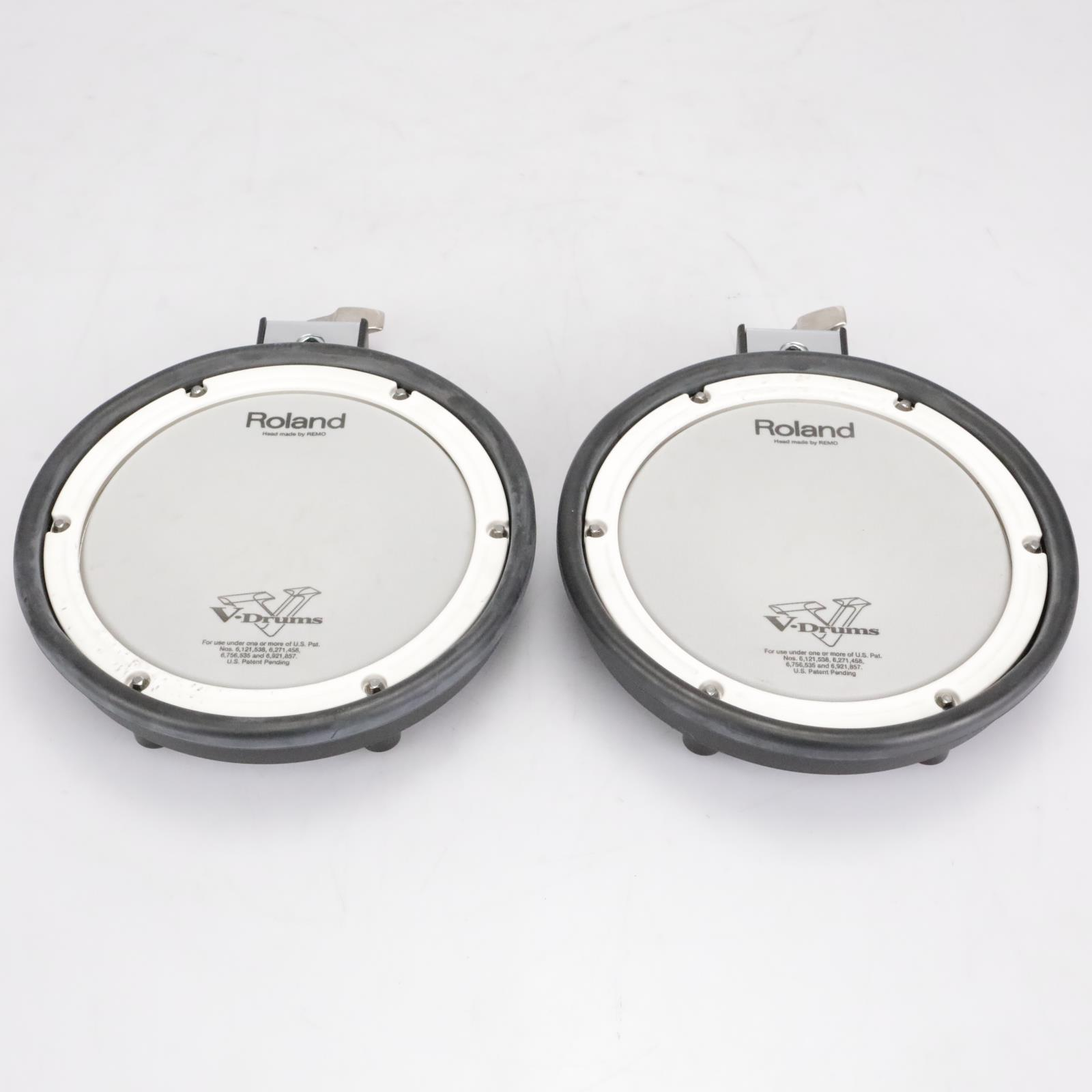 2 Roland PDX-8 V-Drums Dual Triggered Electric Drum Pads #41807