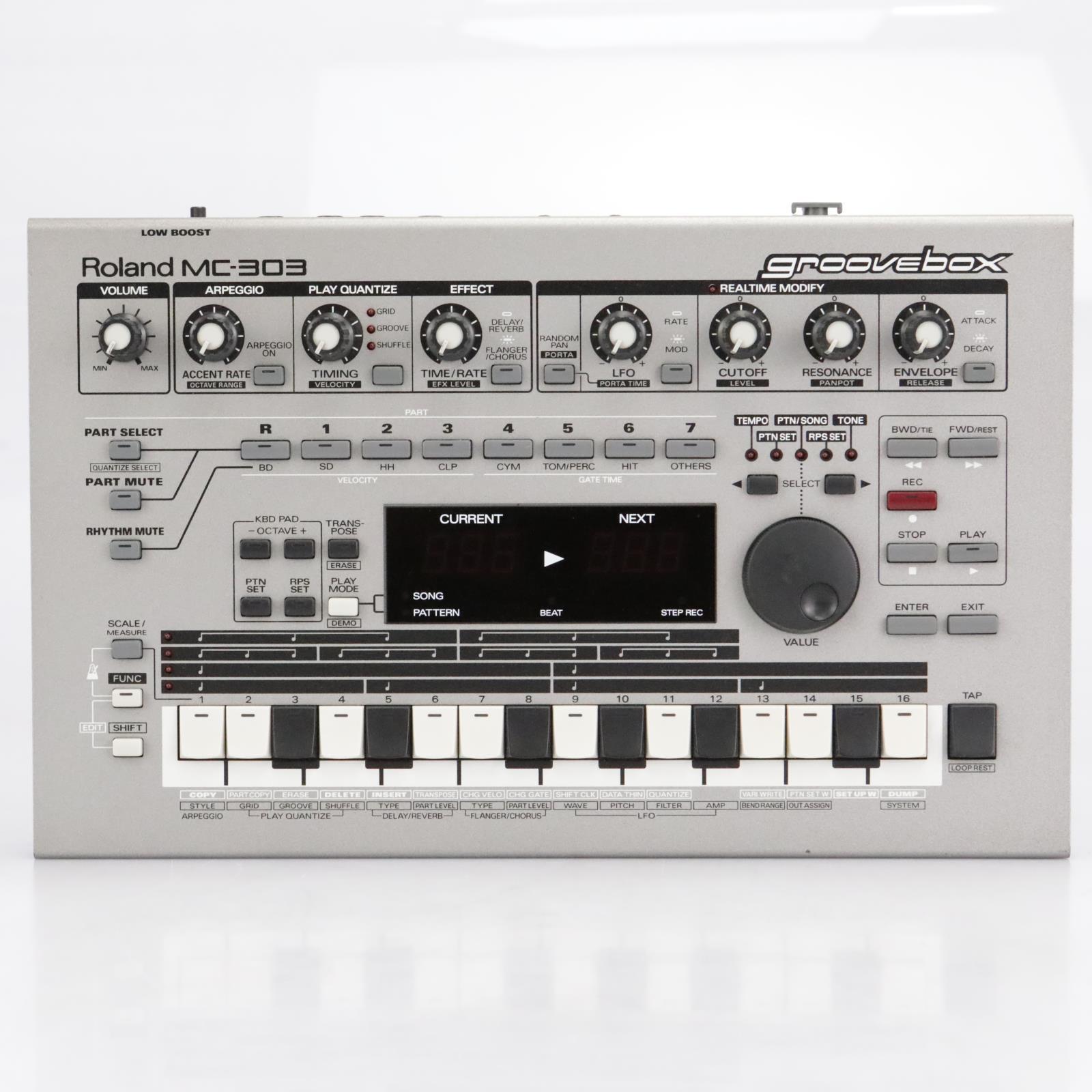 Roland MC-303 Groovebox Sequencer Sound Module #41964