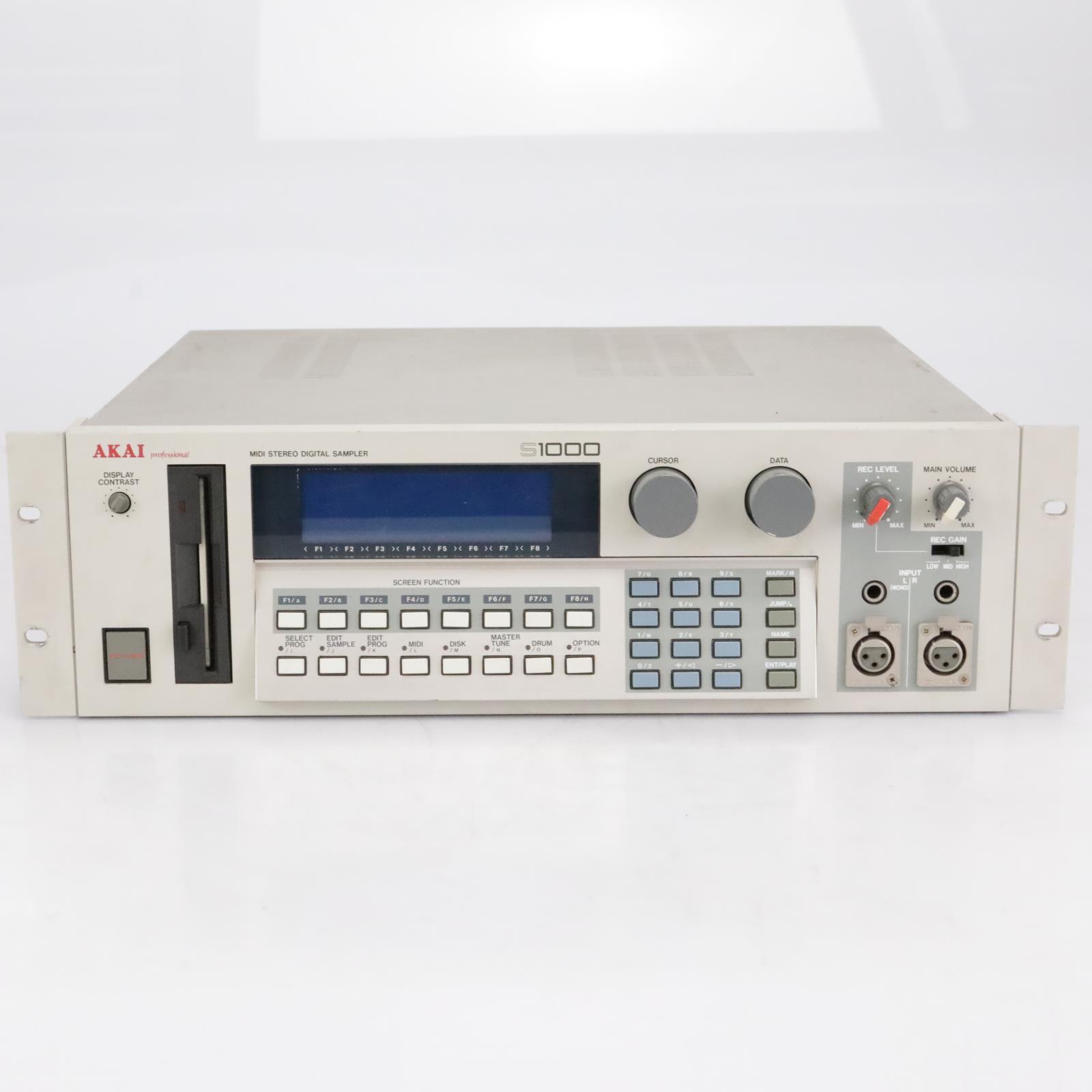 Akai Pro S1000 MIDI Stereo Digital Sampler #41898