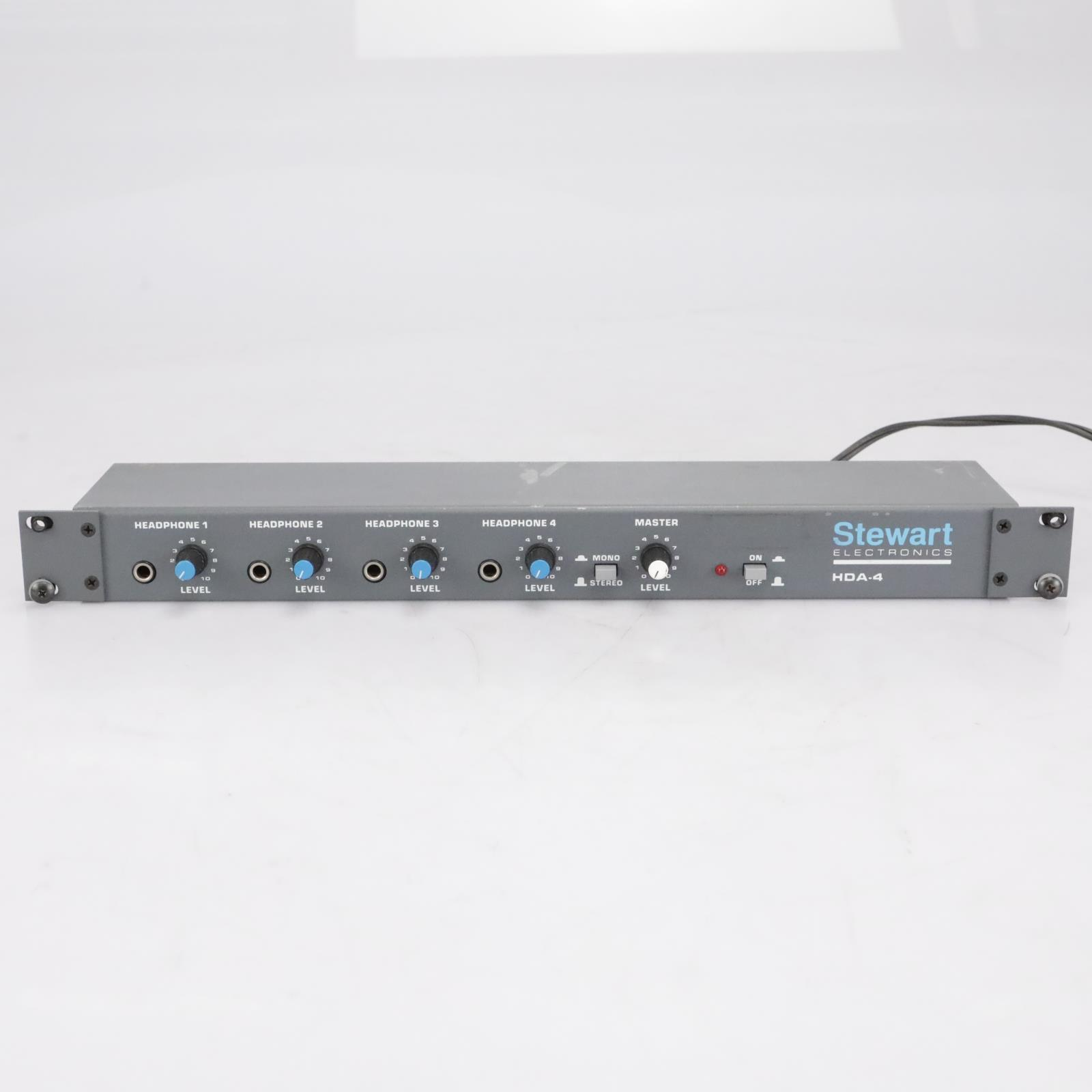 Stewart Electronics HDA-4 Four-Channel Stereo Headphone Amplifier #41729