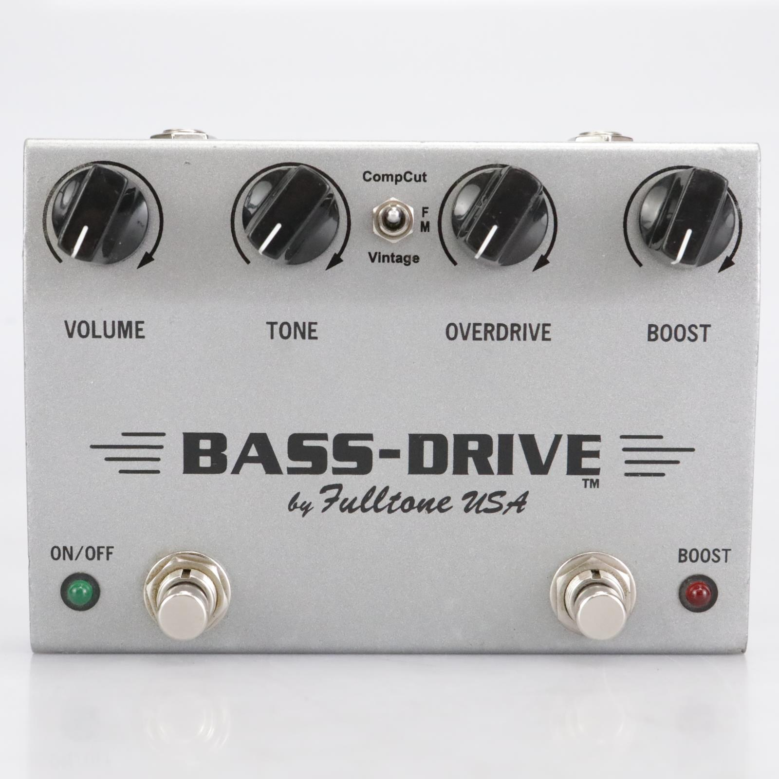Fulltone Bass-Drive Overdrive Bass Effects Pedal #41952