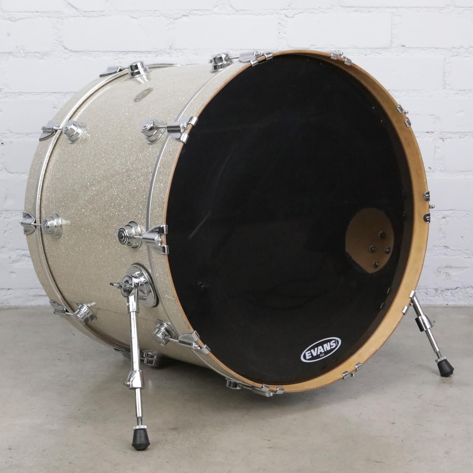 """DW Collector's Series 24""""x18"""" Broken Glass Bass Drum #41993"""