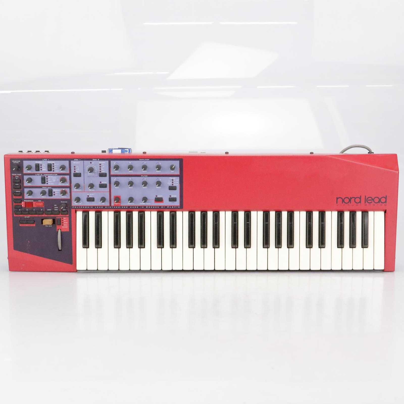 Clavia Nord Lead Virtual Analog Synthesizer w/ Sound Card Original #41997