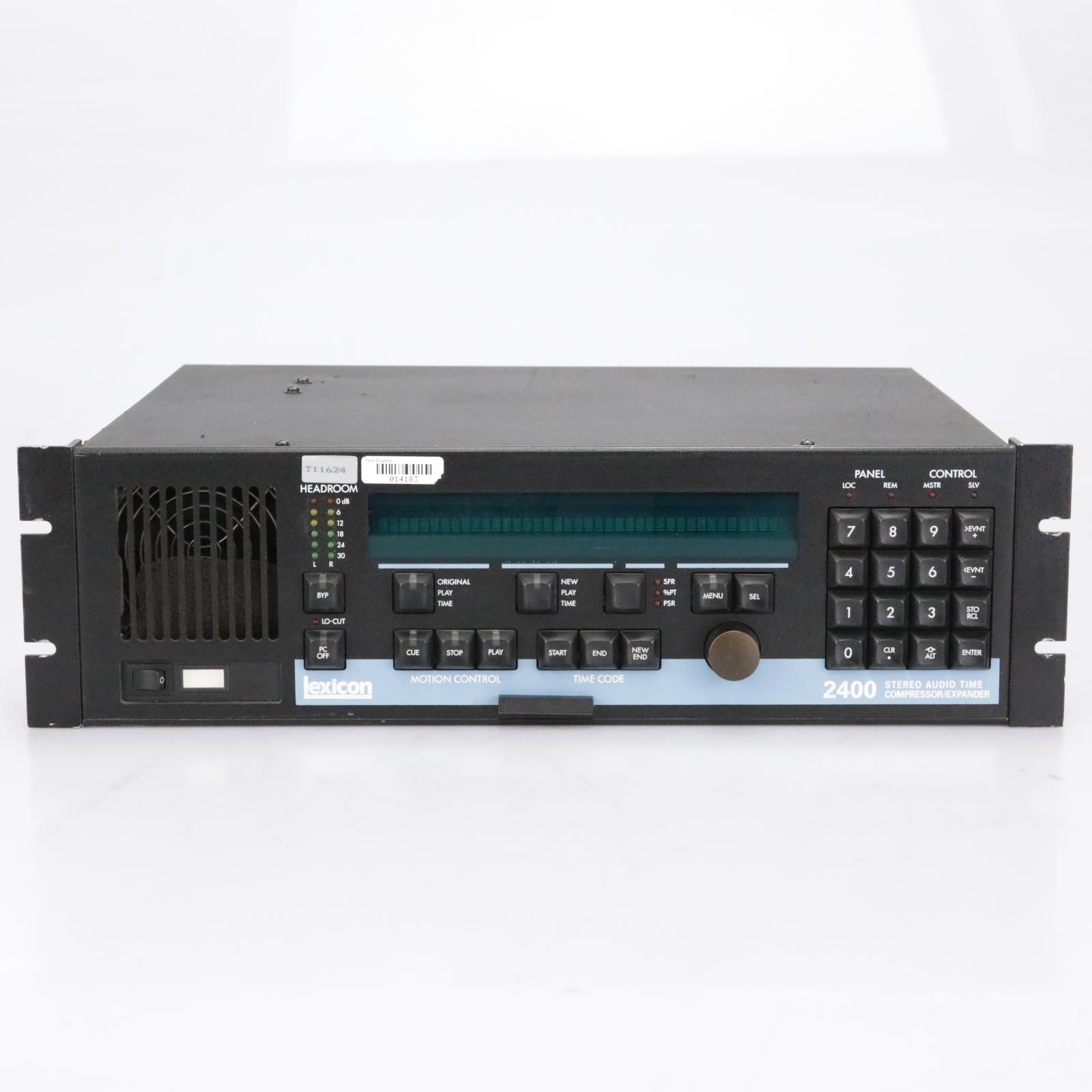 Lexicon 2400 Stereo Audio Time Compressor / Expander #42179