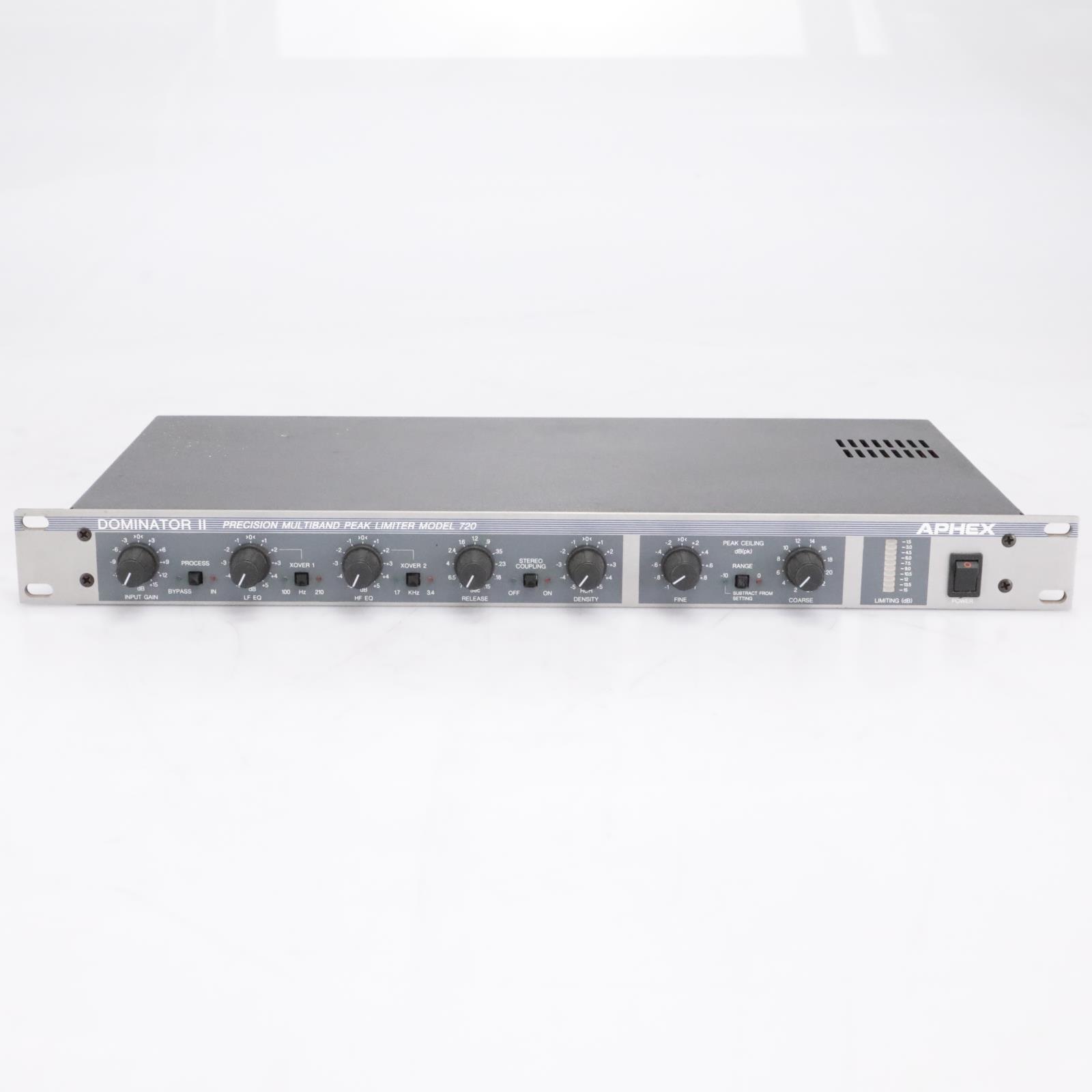 Aphex 720 Dominator II Stereo Precision Multi-Band Peak Limiter #42293
