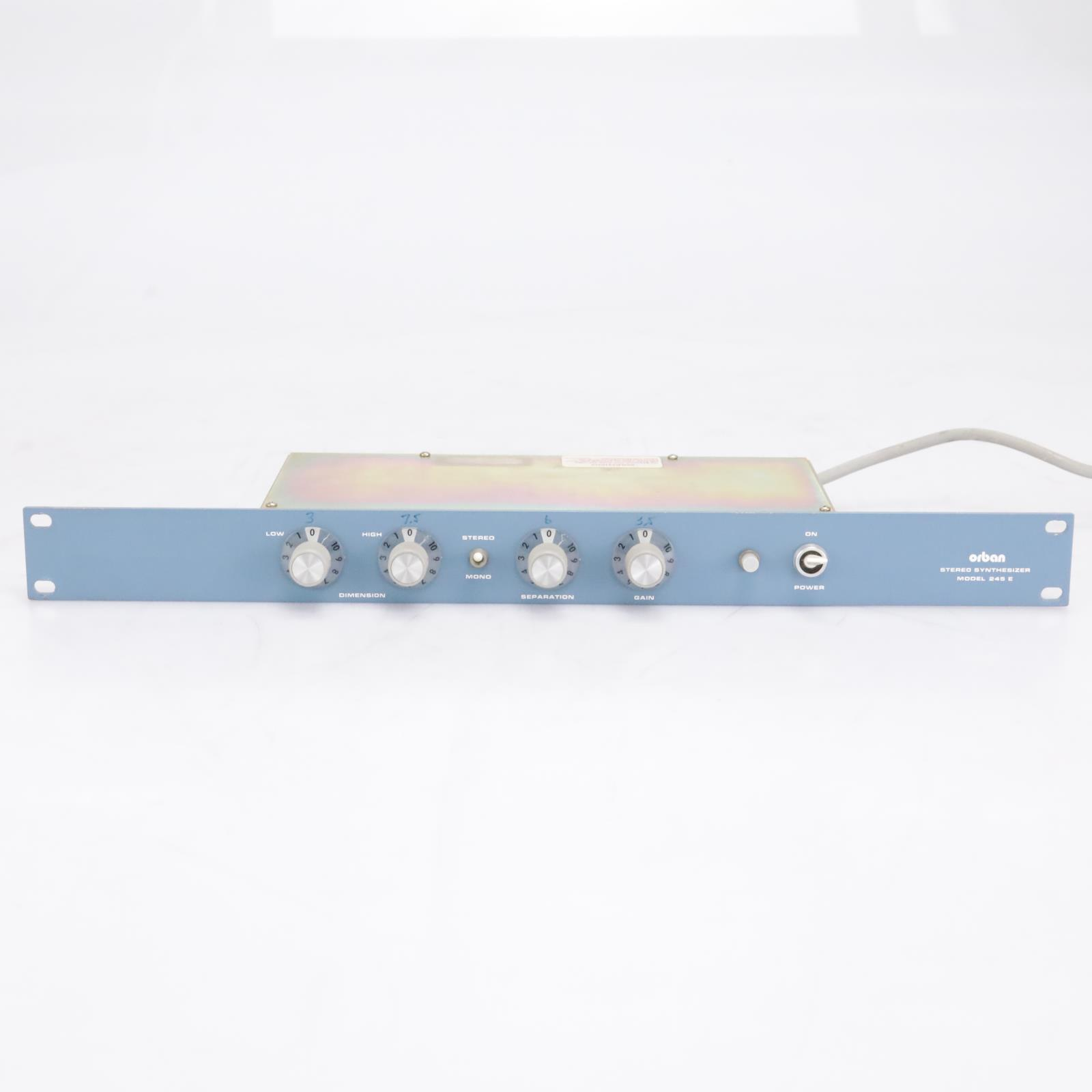 Orban 245E Rackmountable Stereo Synthesizer #42311