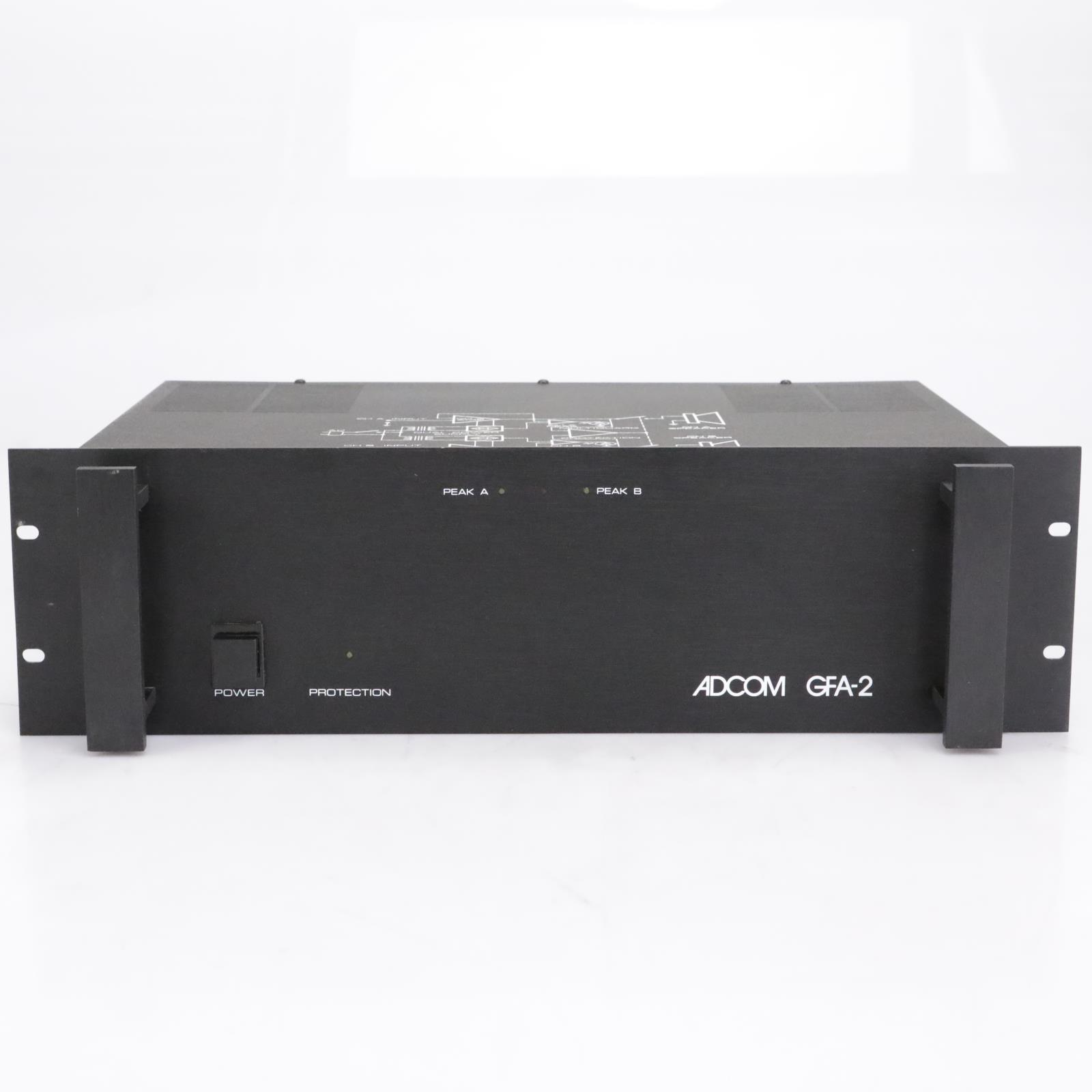 Adcom GFA-2 Two-Channel Stereo Power Amplifier #42302