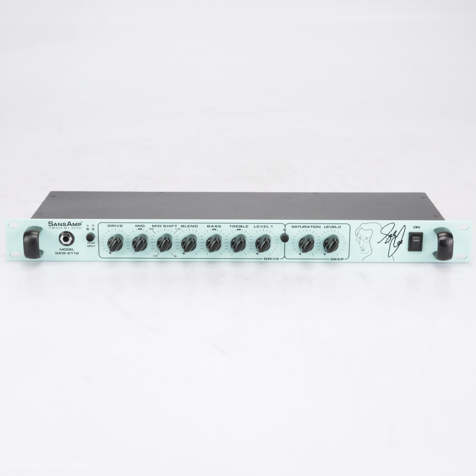 Tech 21 GED-2112 SansAmp  Rackmount Bass Preamp #42362