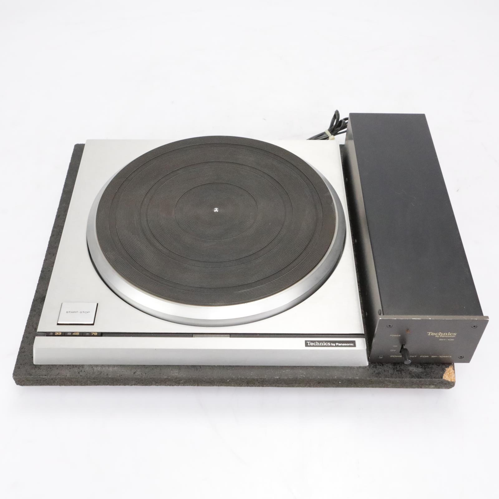 Technics SP-10MKII Direct Drive Turntable w/Power Supply & EXTRAS! #42318