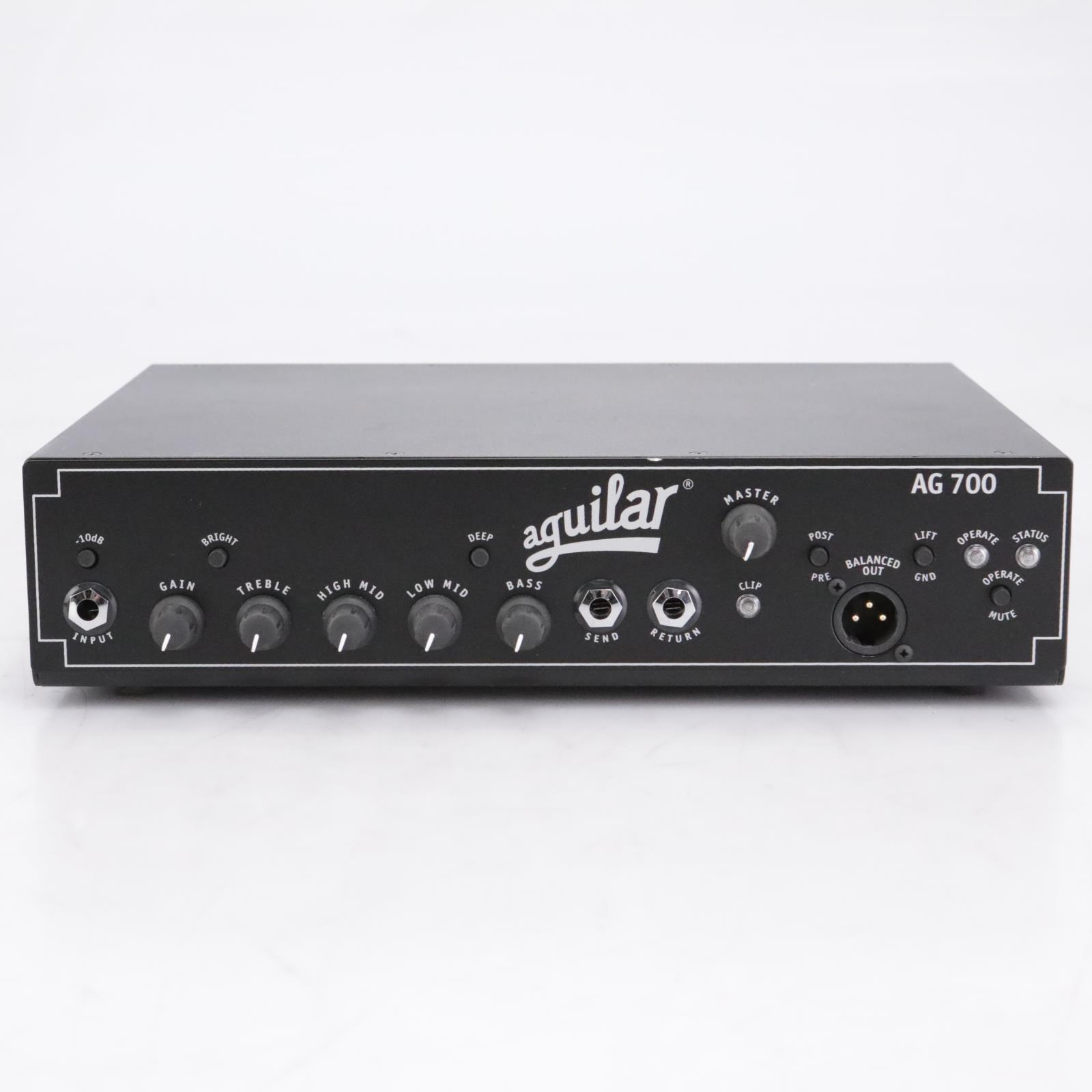 Aguilar AG-700 Super Light 700 Watt Bass Amp Head #42405