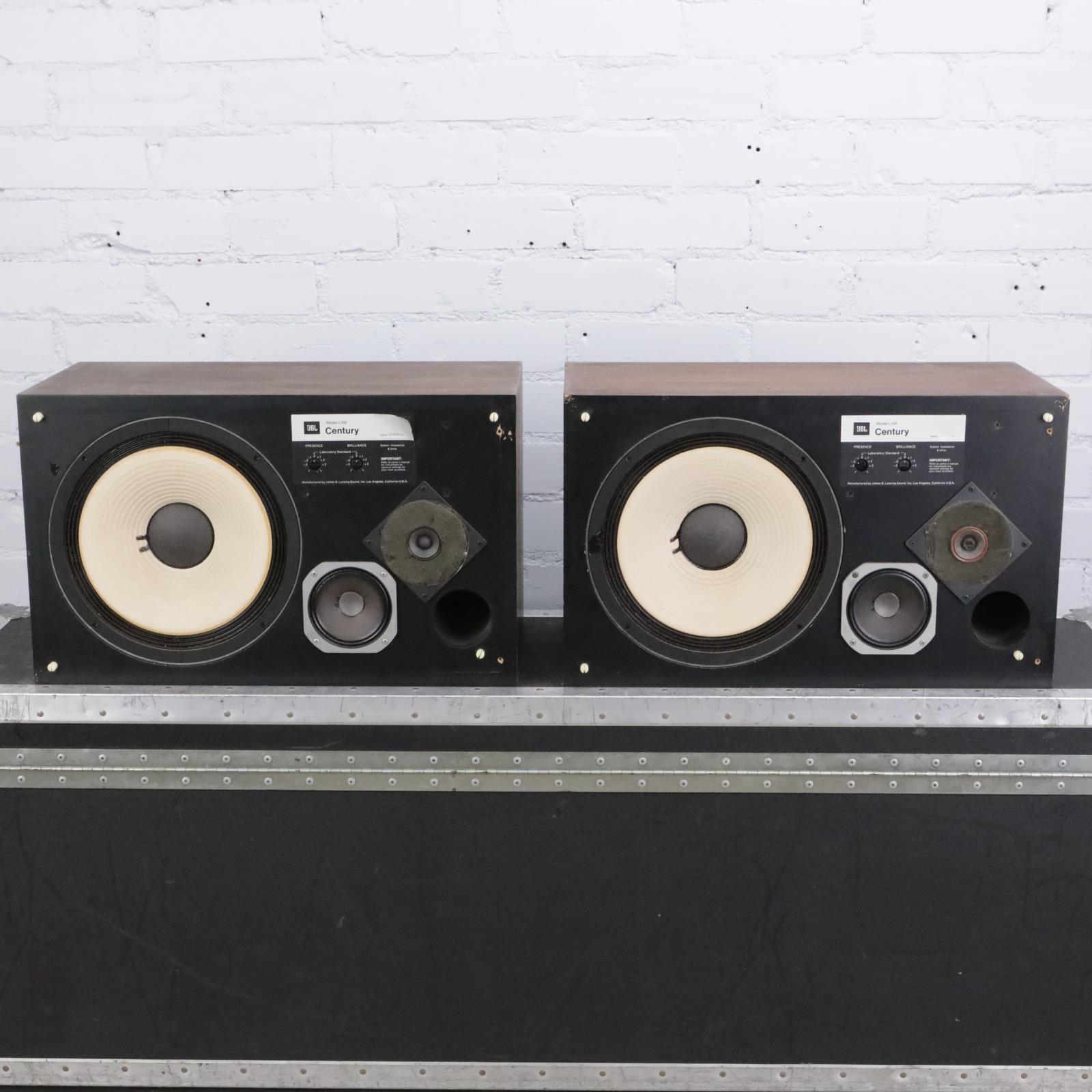 JBL Century Model L100 Studio Monitor Speakers #42290