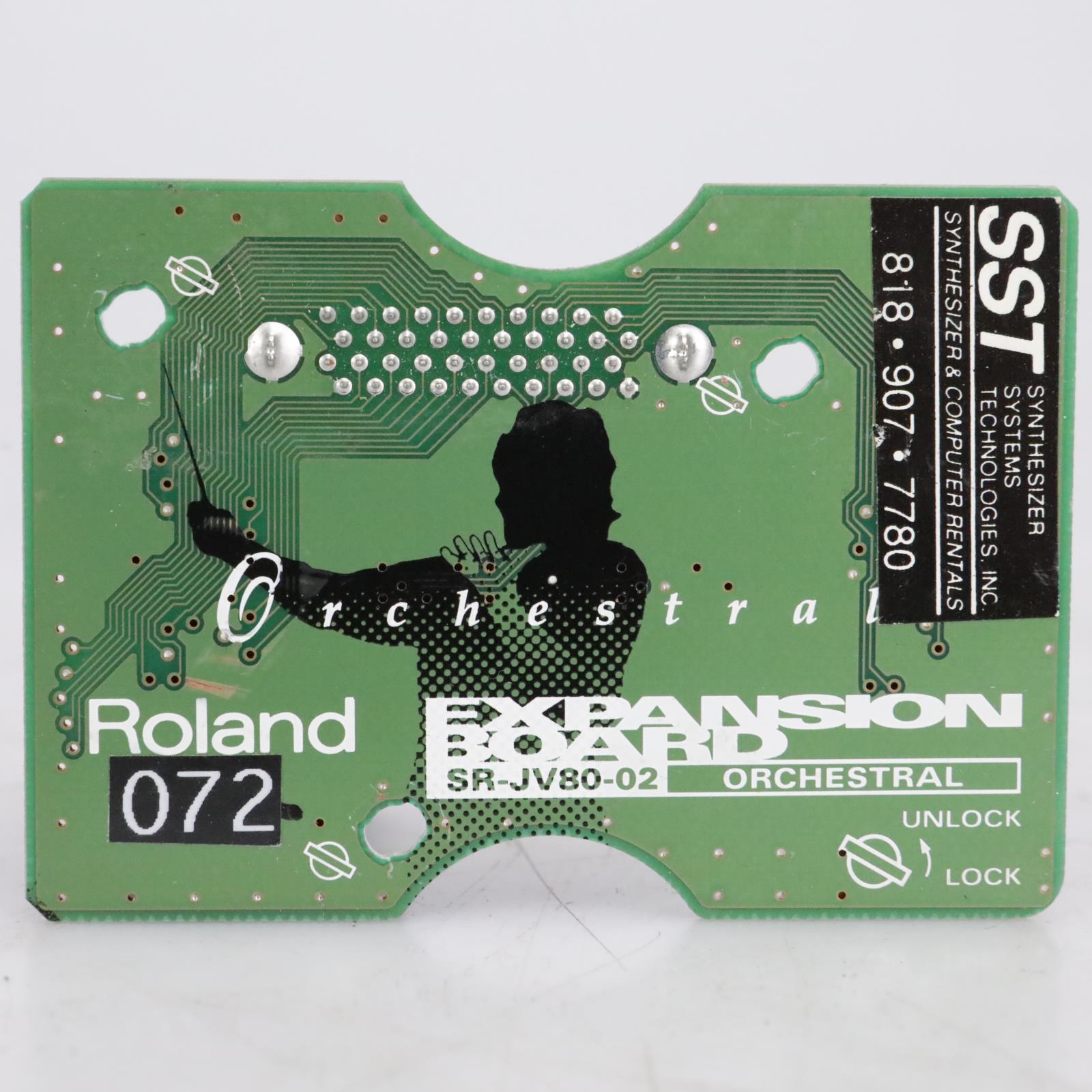 Roland SR-JV80-02 Orchestral Expansion Board #41722